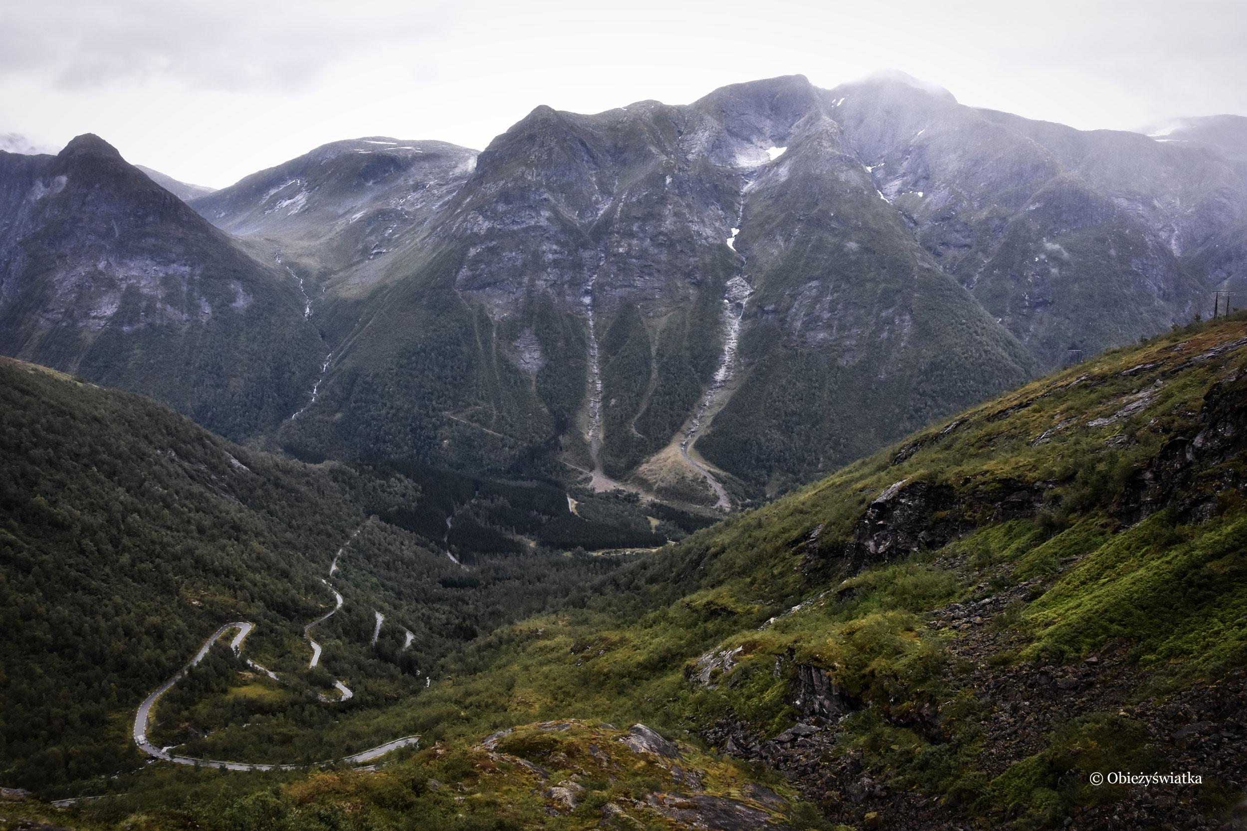 Droga turystyczna przez Gaularfjellet, Norwegia