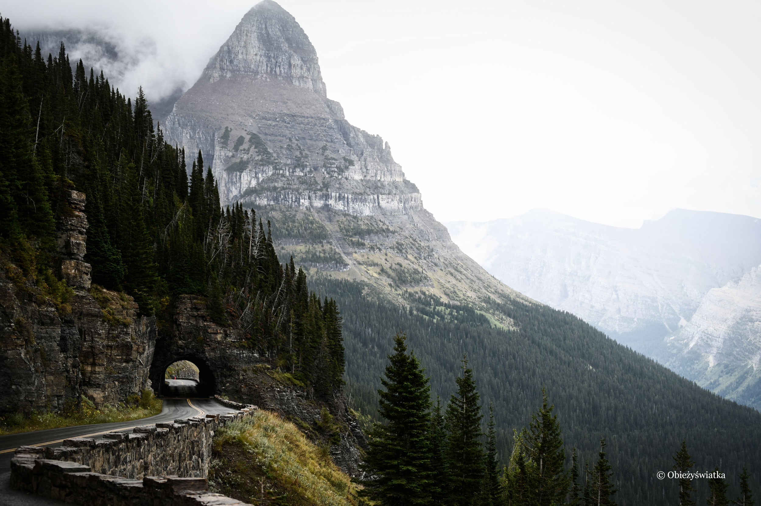 Going to the Sun Road, Glacier National Park, USA