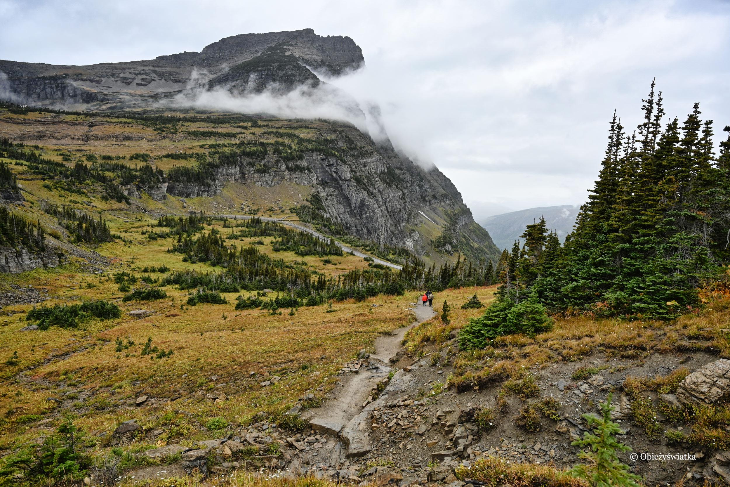 Na szlaku - Glacier National Park, Montana