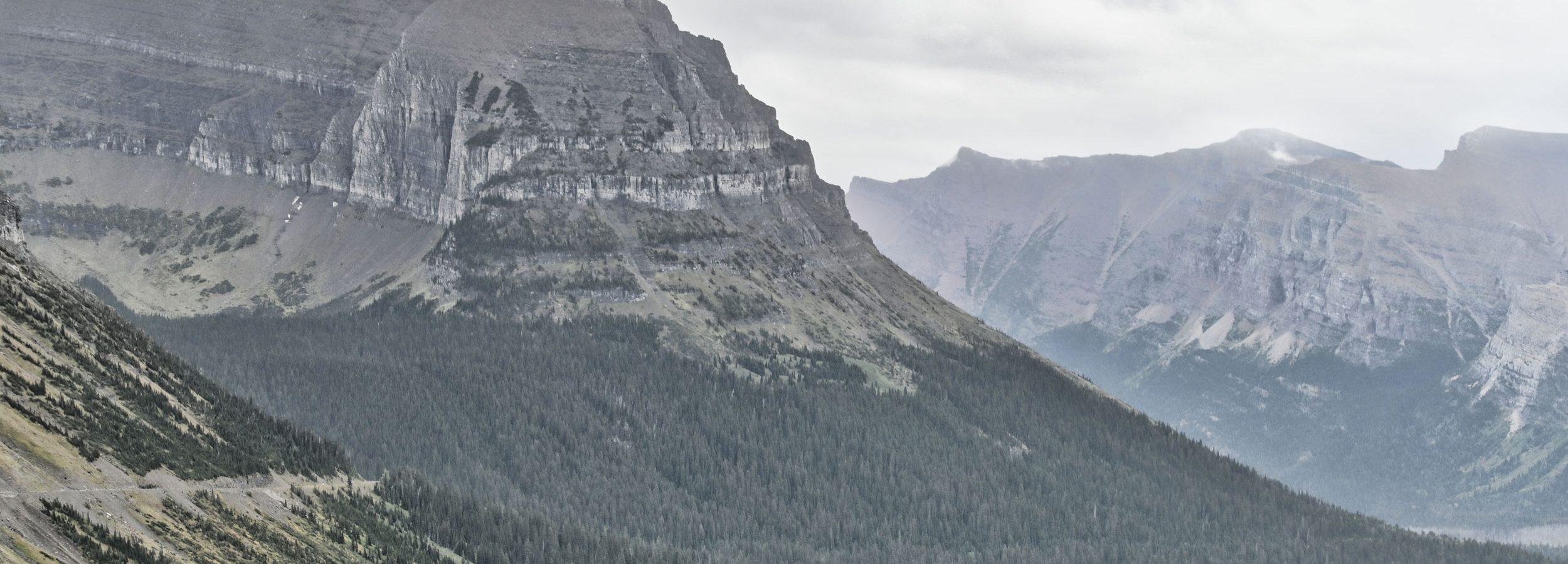 Glacier National Park, Montana - Park Narodowy Glacier w Montanie