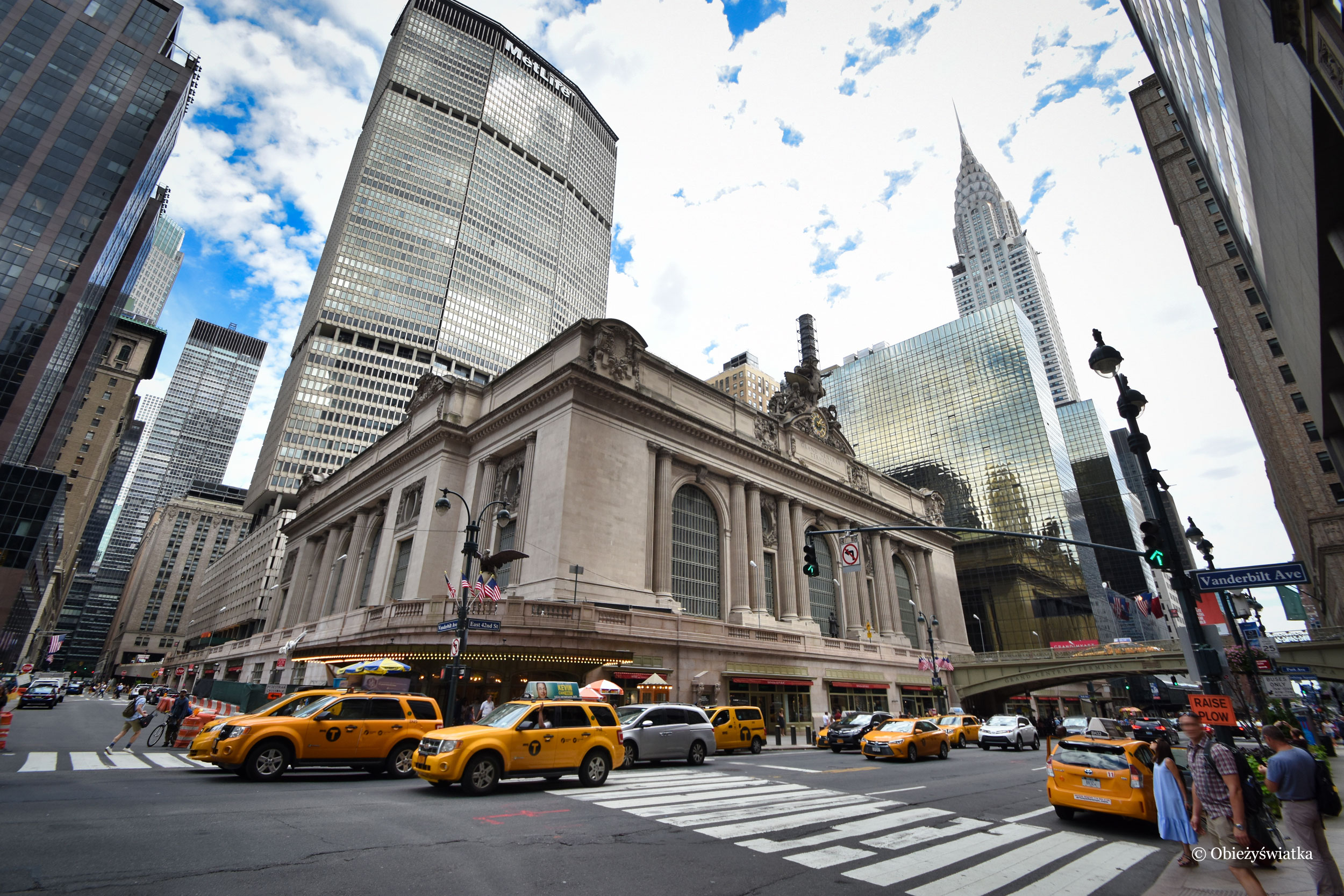 Grand Central Station i Chrysler Building, NYC