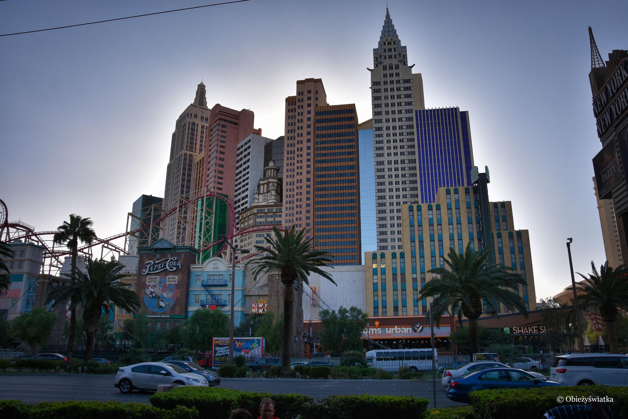 Hotel New York, New York w Las Vegas, Nevada