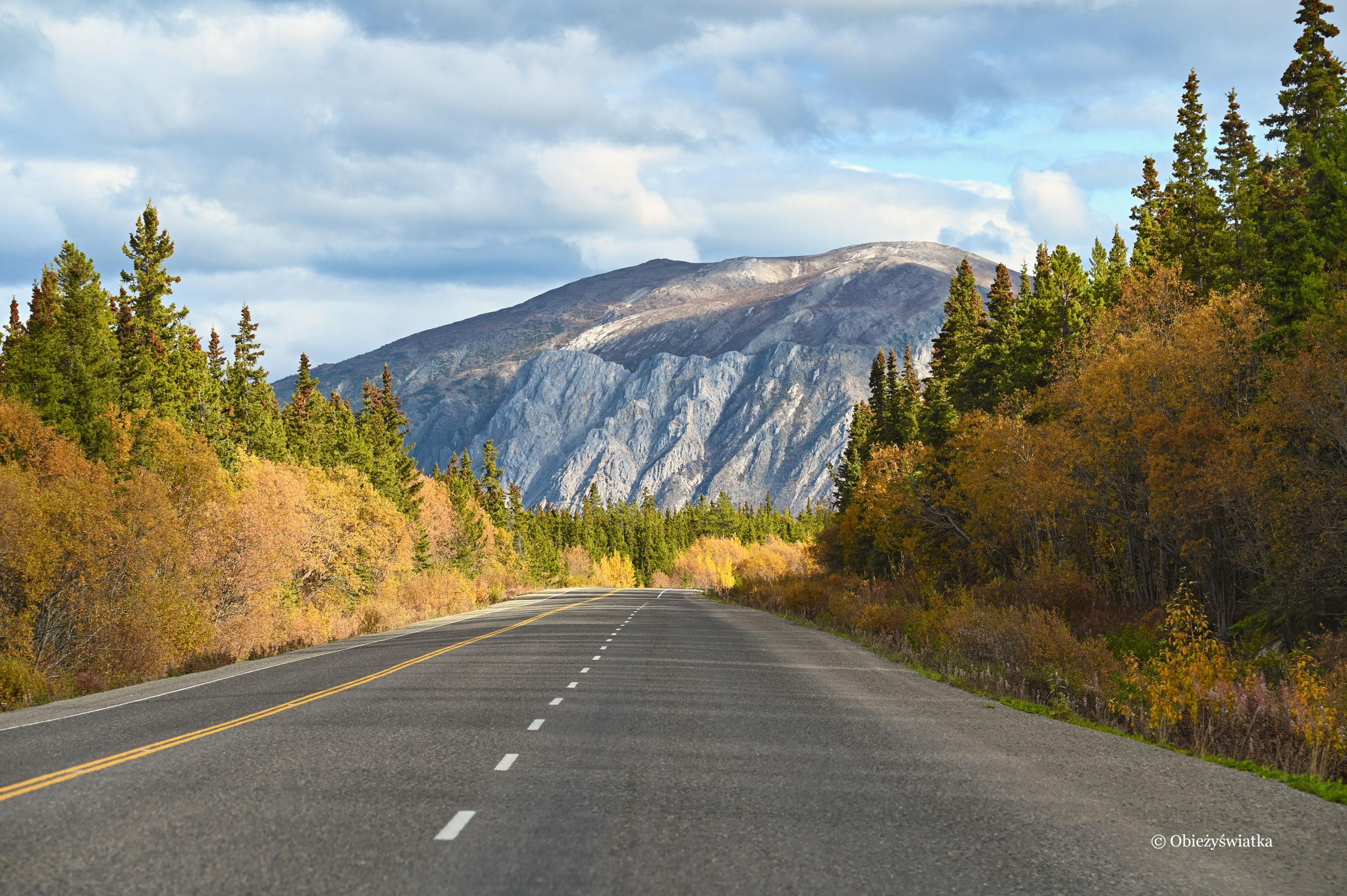 Wspaniały krajobraz, Klondike Highway, Kanada