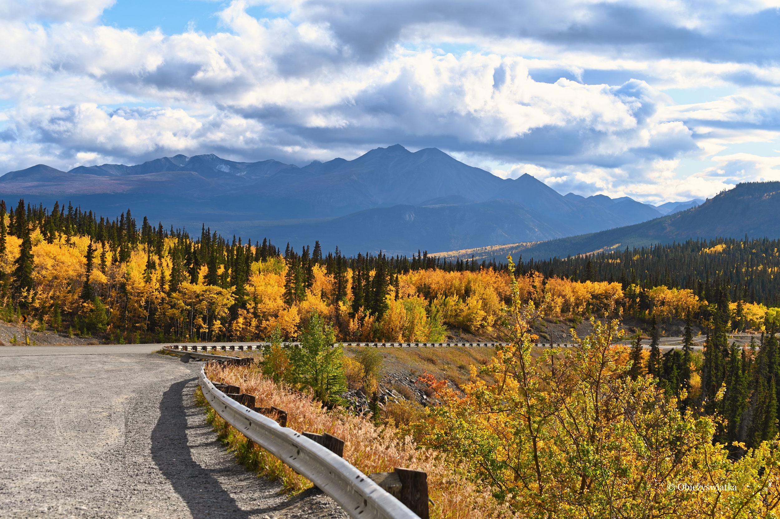 Piękna jesień w Kanadzie, Klondike Highway