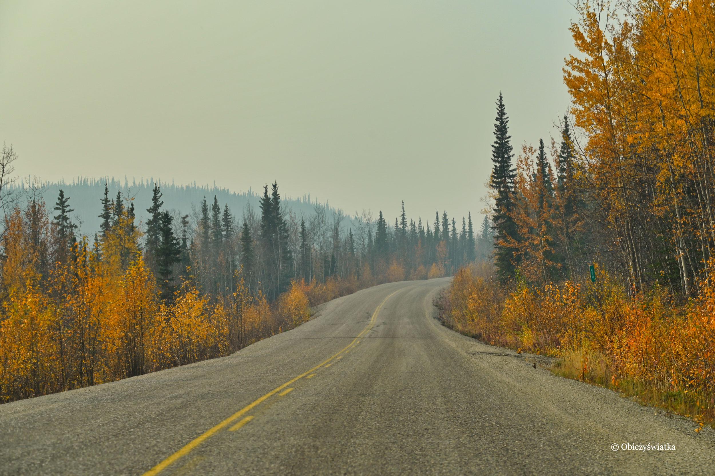 Pusty Klondike Highway, Kanada
