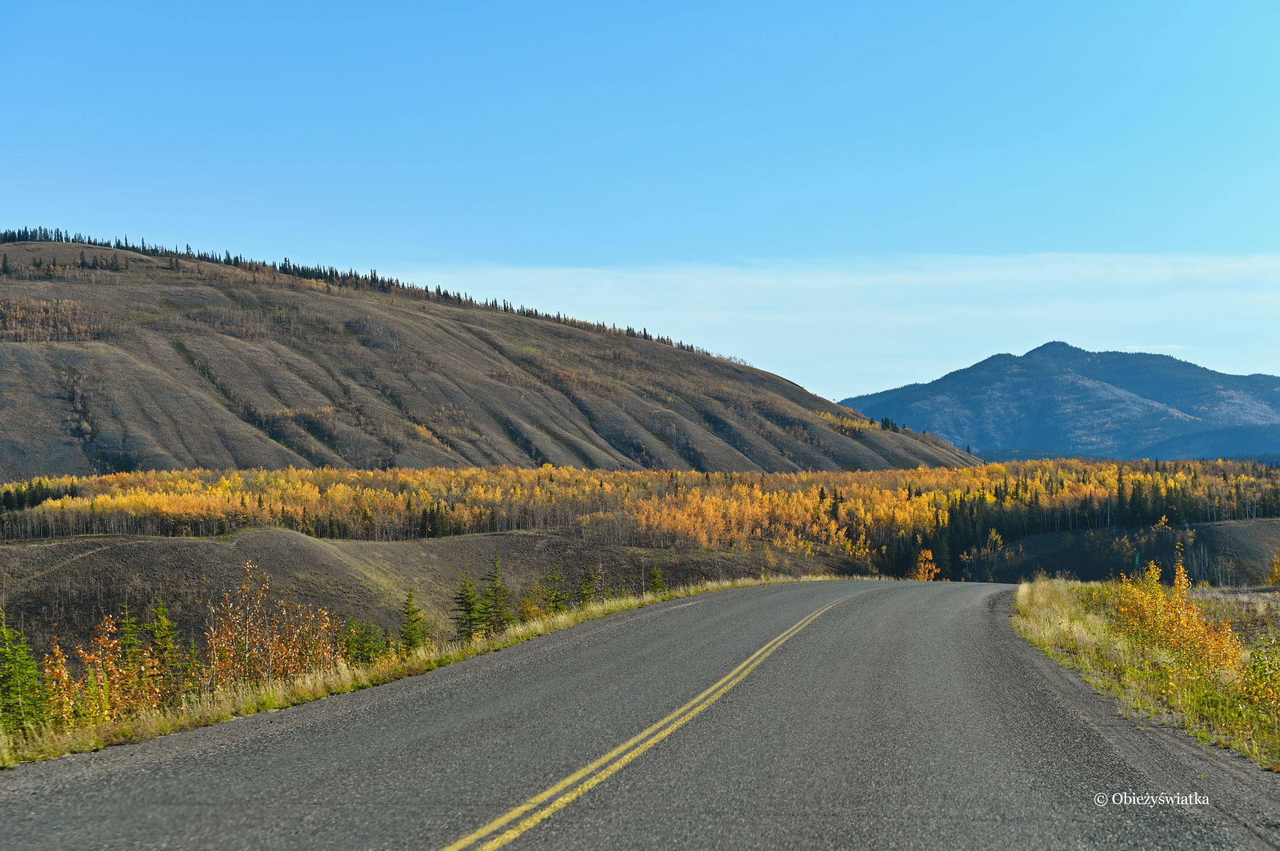 Legendarny Klondike Highway, Kanada