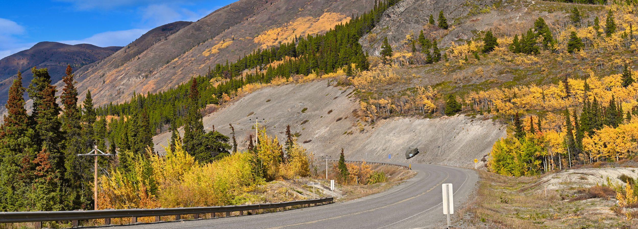 Klondike Highway, Kanada