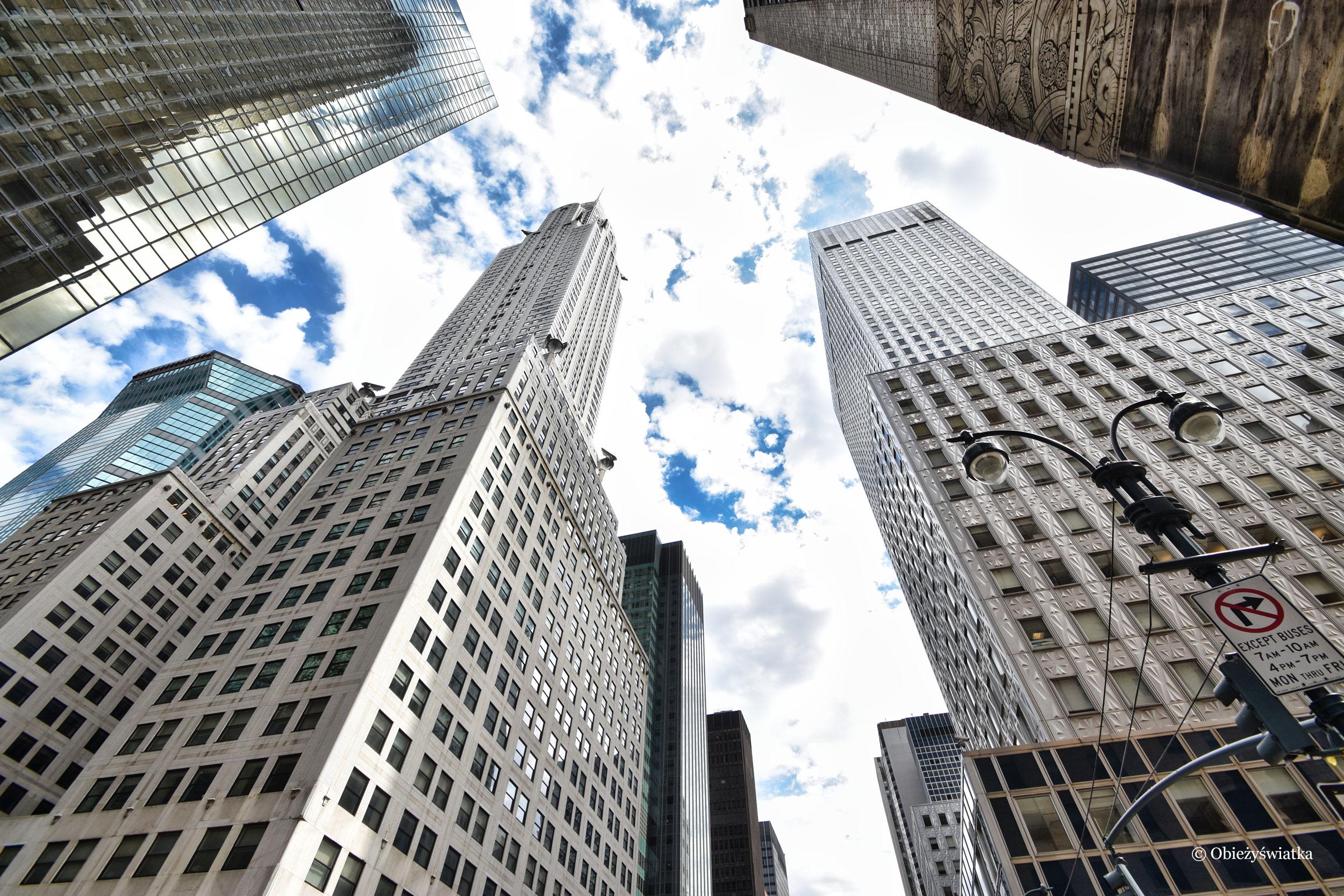 Drapacze chmur w Nowym Jorku, USA