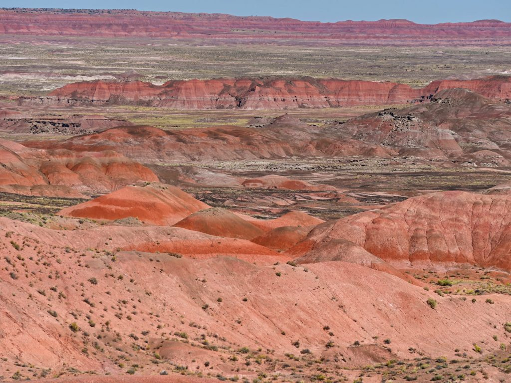 Painted Desert, Petrified Forest National Park, Arizona, USA