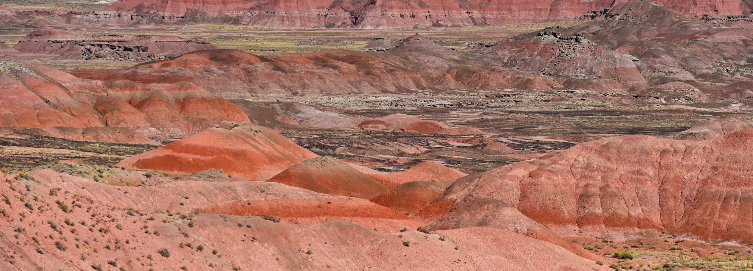 Painted Desert, Petrified Forest National Park, Arizona, USA