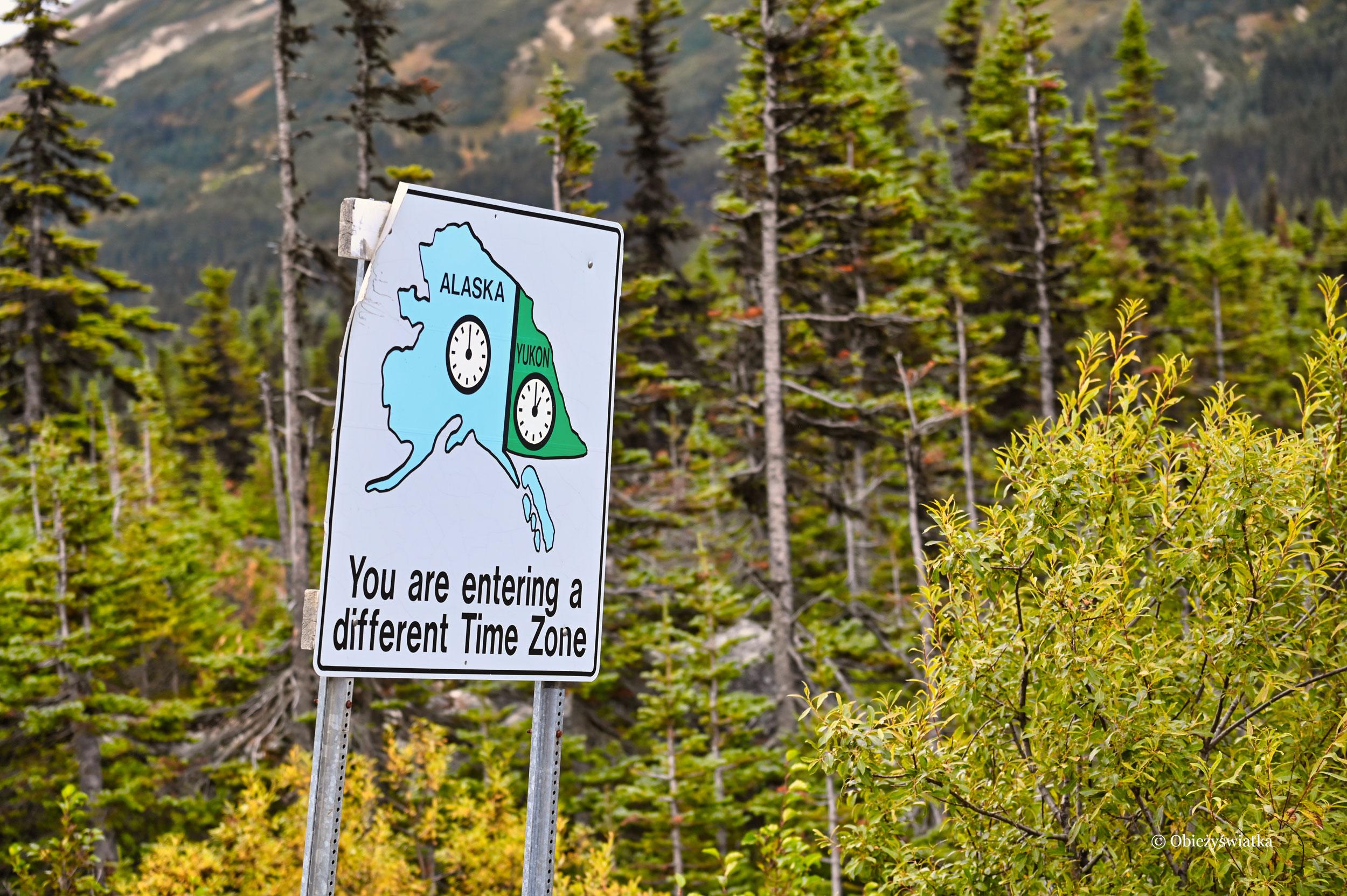 Zmiana czasu: Yukon i Alaska
