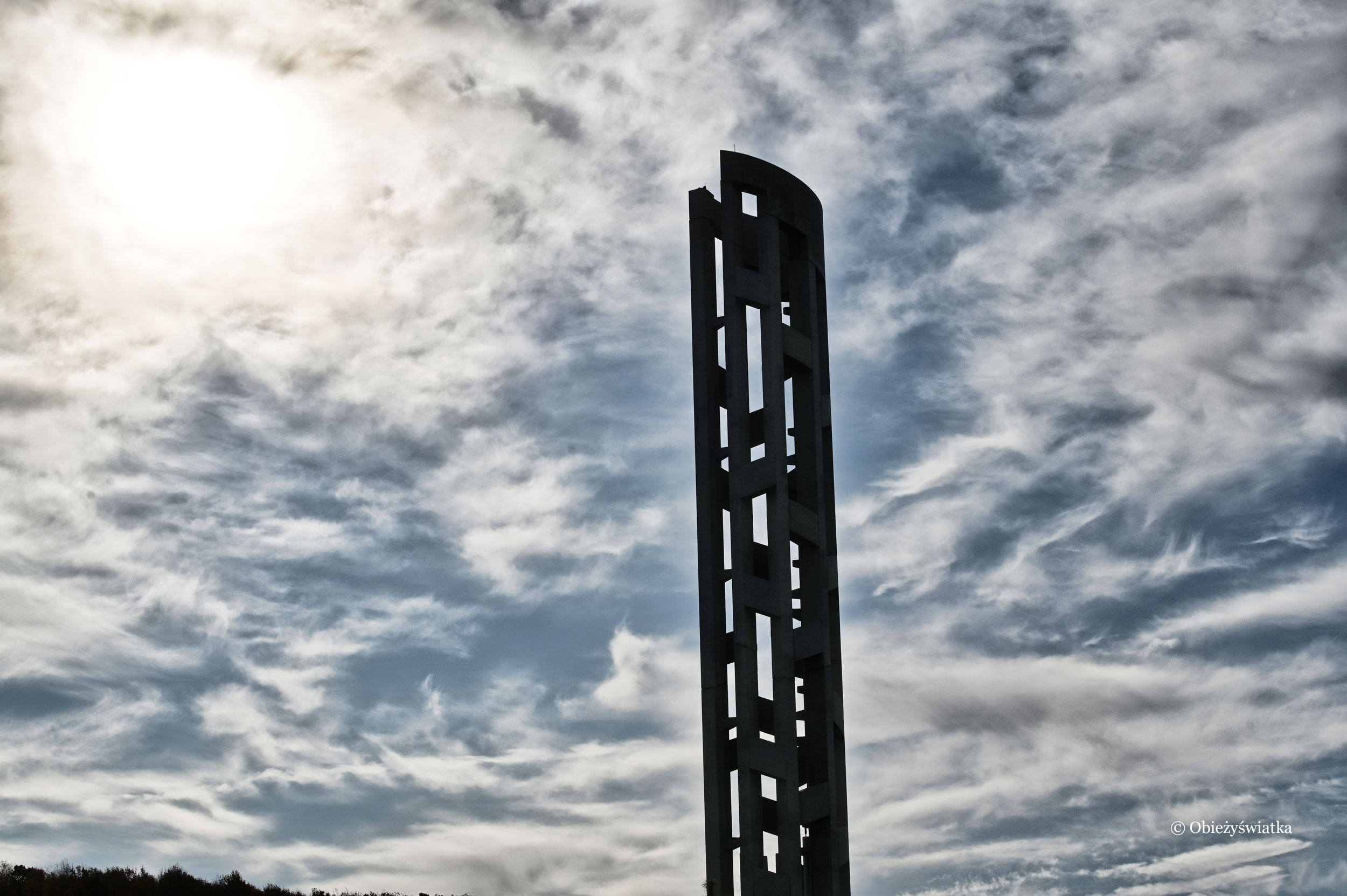 Tower of Voices, Flight 93 National Memorial, Pennsylvania, USA