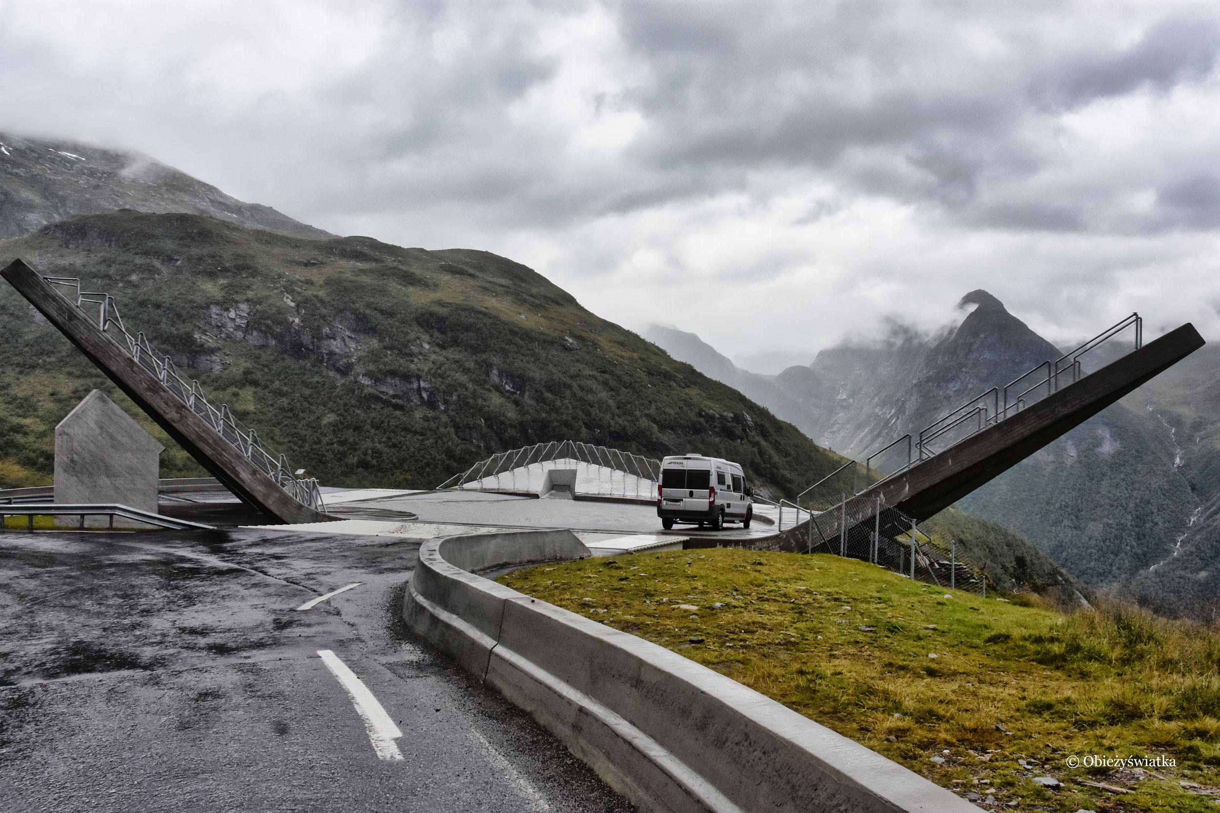 Na punkcie widokowym Utsikten, Norwegia
