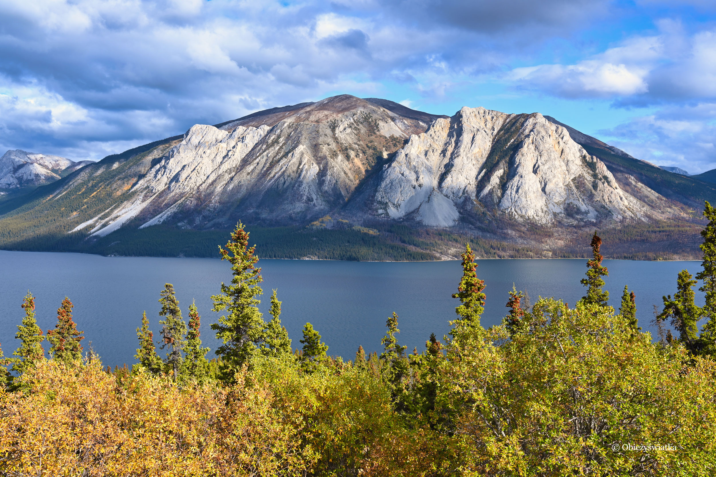 Góry wokół Tagish Lake, Kanada