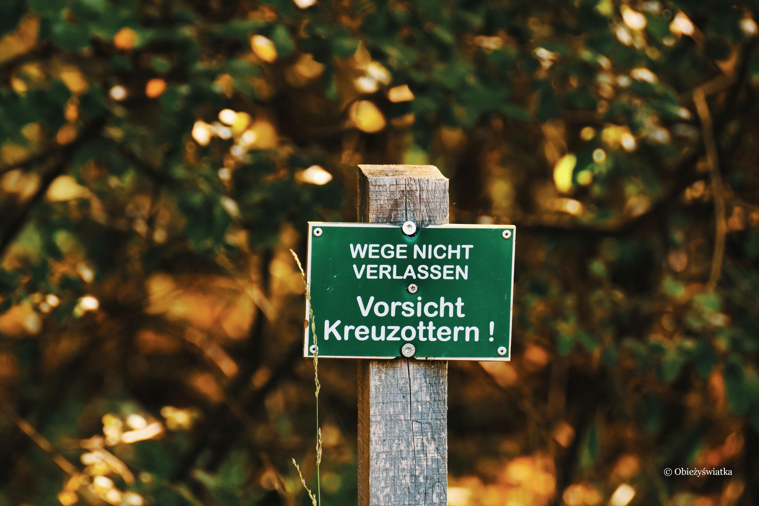 Uwaga na żmije, Lüneburger Heide