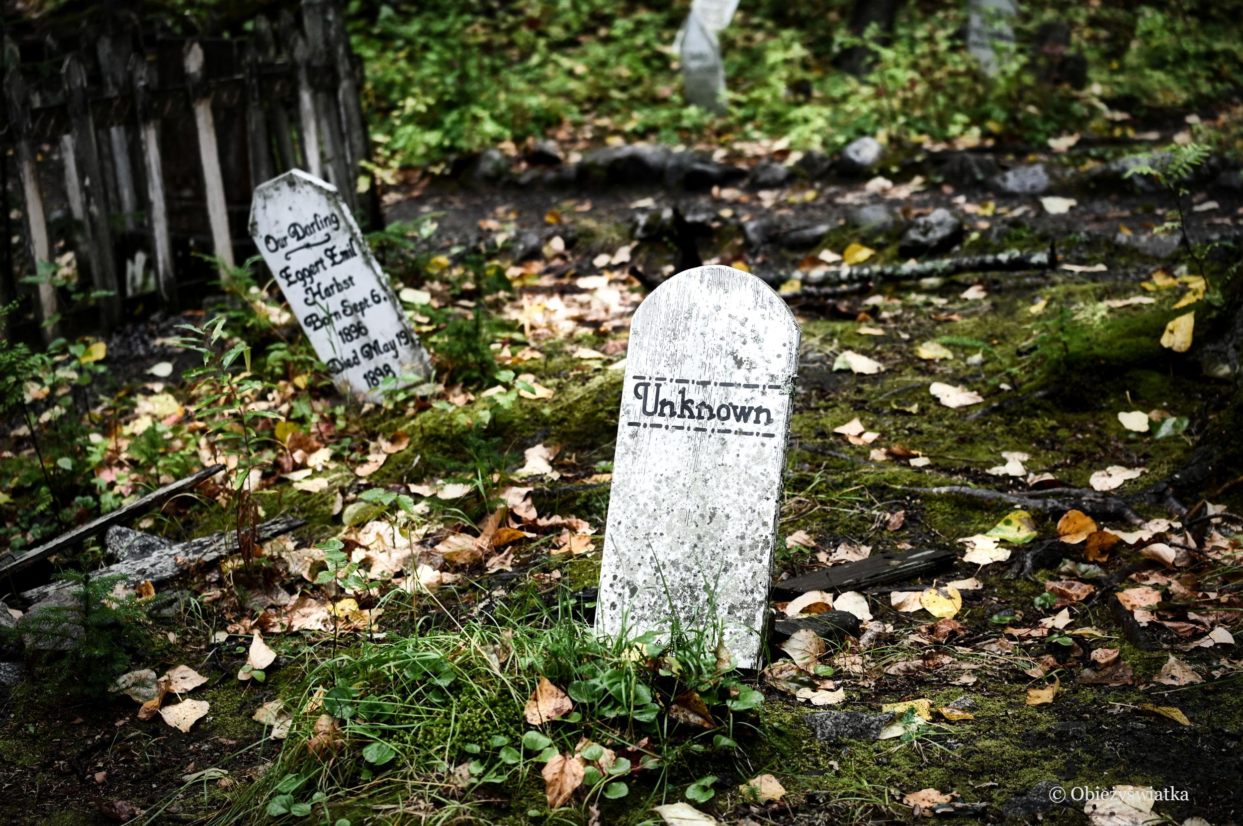 Nieznany - Gold Rush Cemetery, Skagway, Alaska