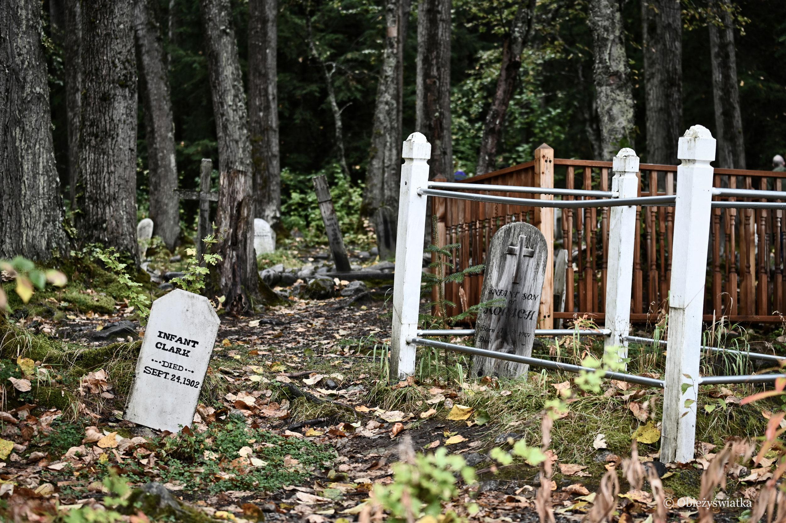 Cmentarz Poszukiwaczy Złota, Skagway, Alaska