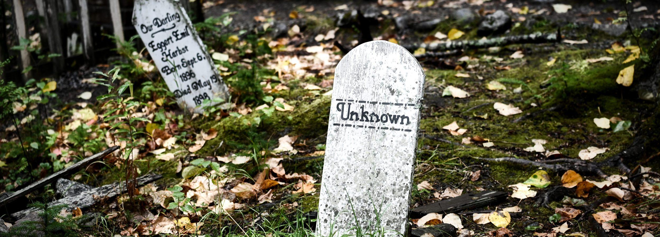 Cmentarz Poszukiwaczy Złota, Alaska, Skagway - Gold Rush Cemetery
