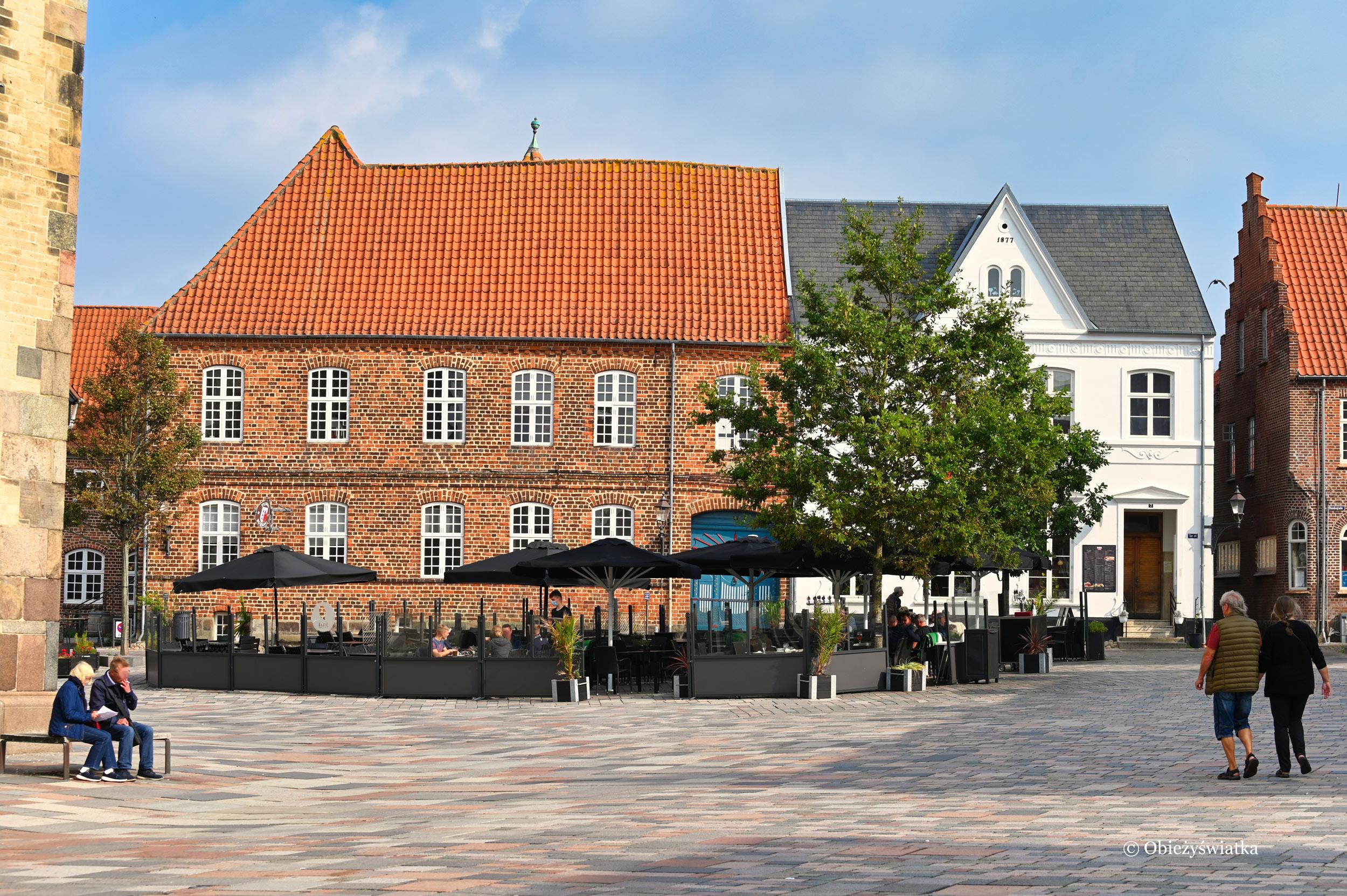 Na rynku, Ribe, Dania