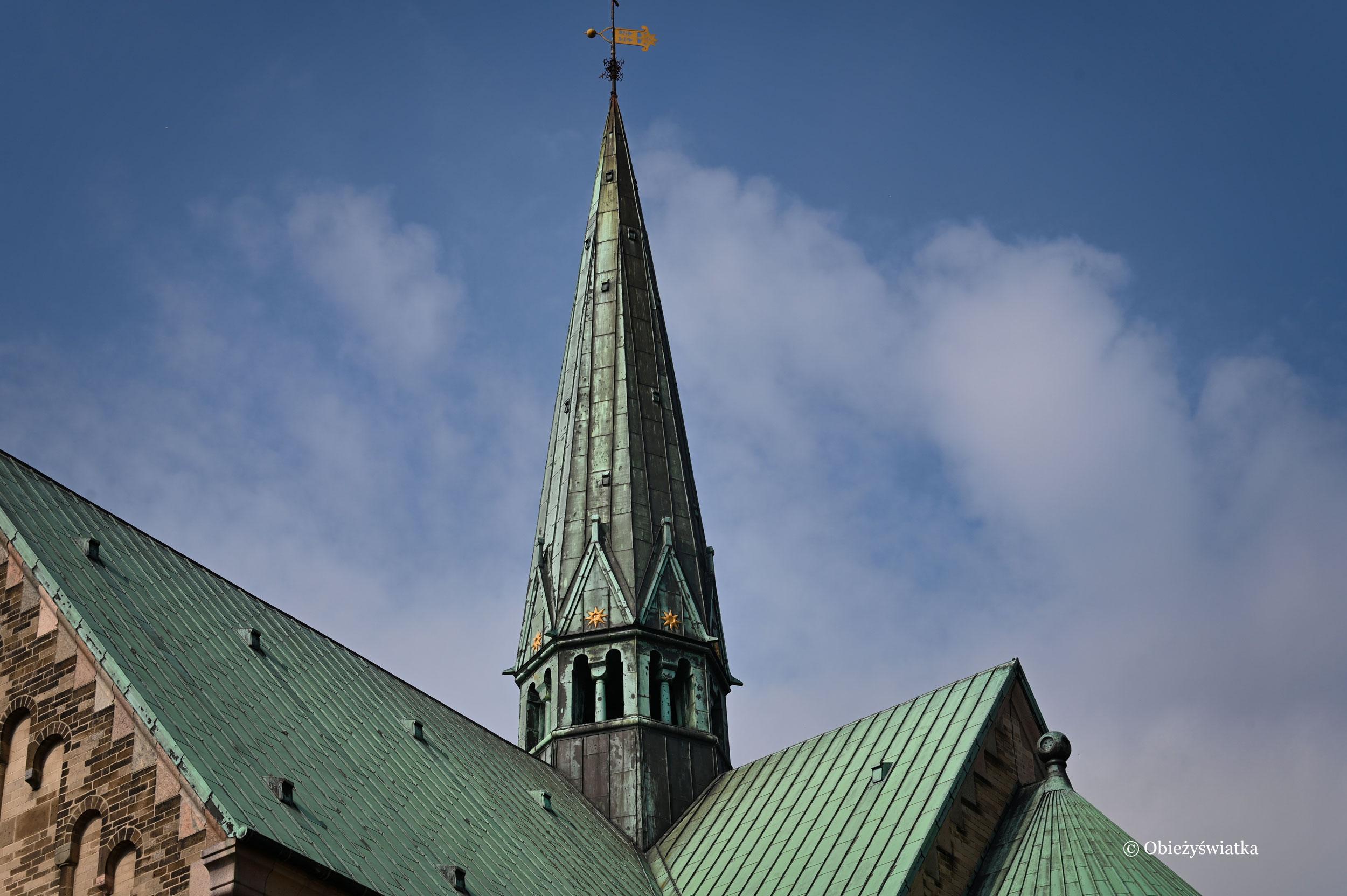 Jedna z wież Katedry w Ribe, Dania