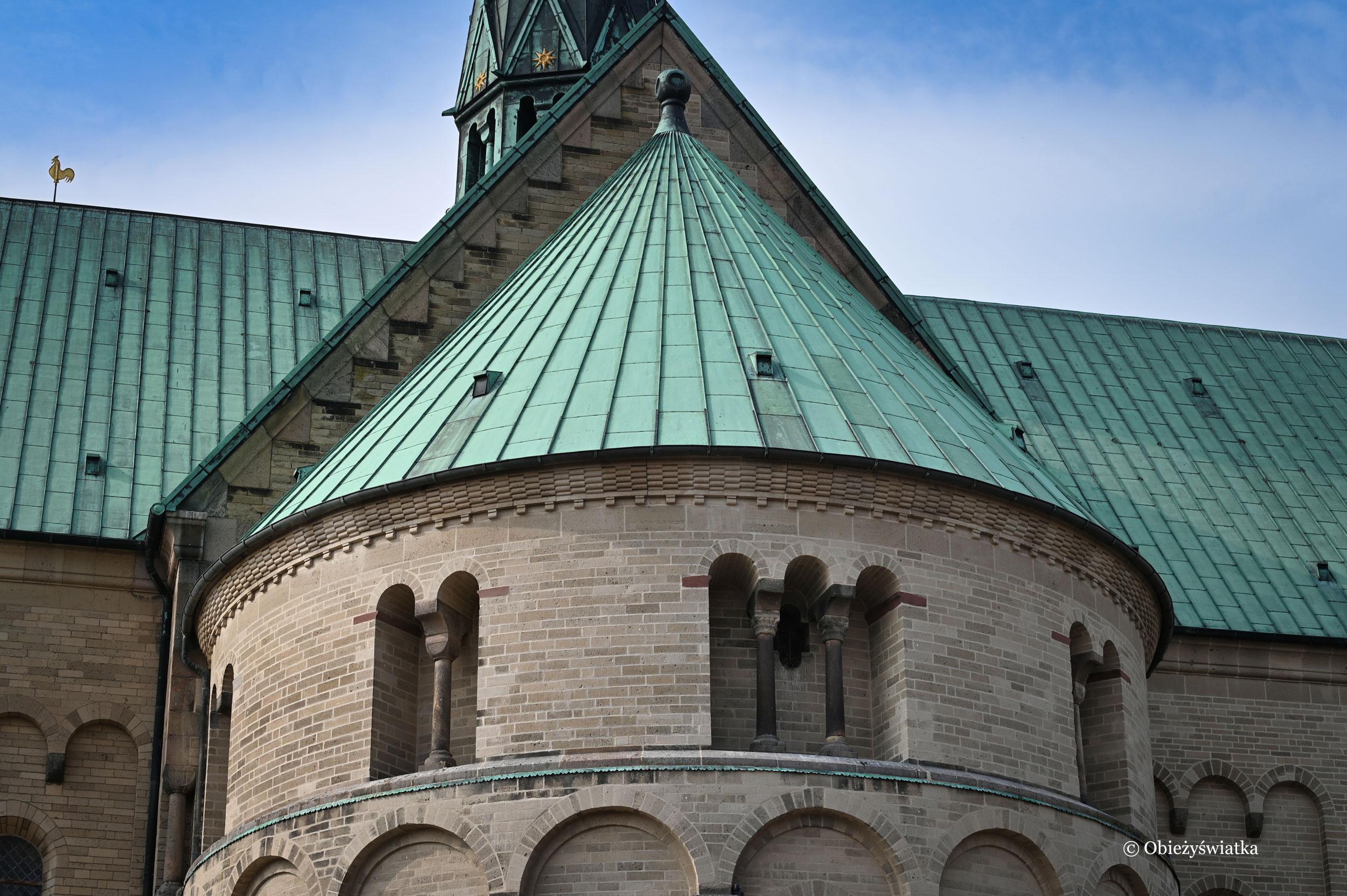 Apsyda z XII w. - Katedra w Ribe, Dania