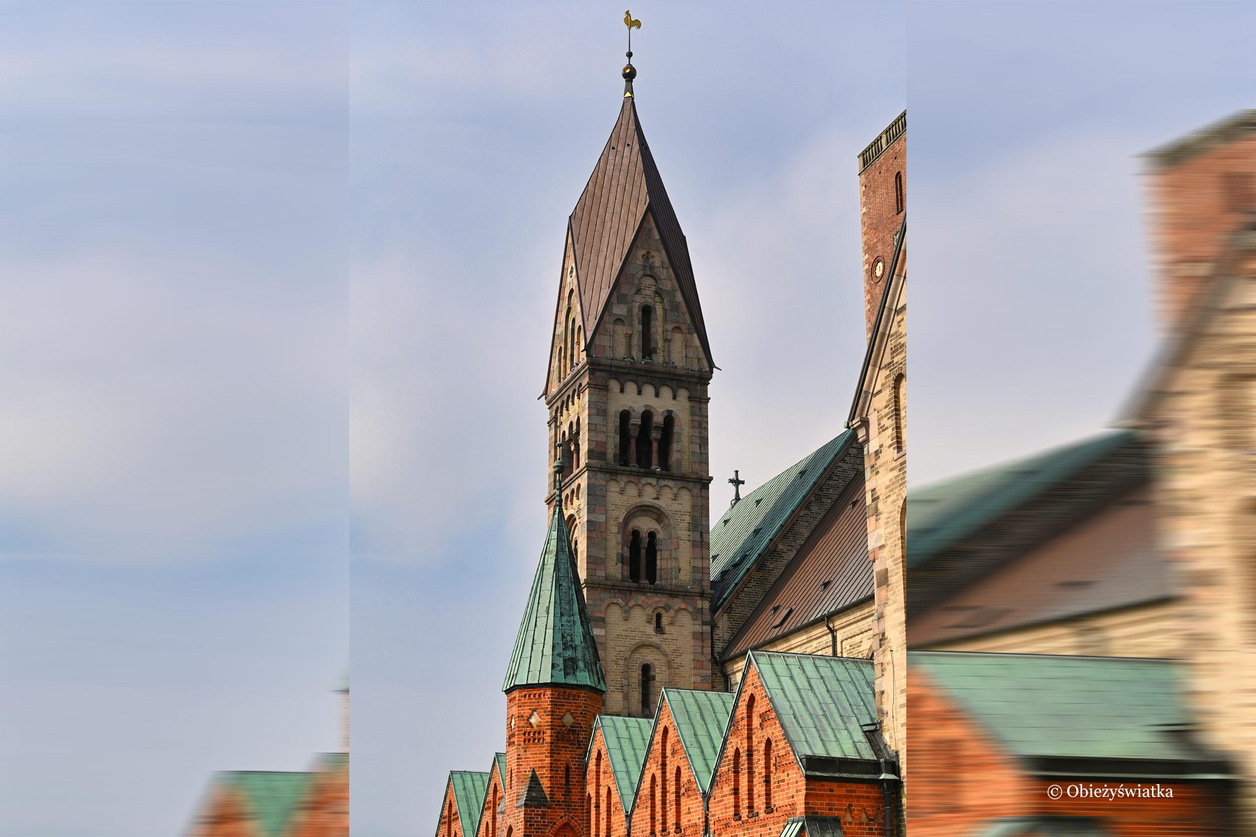 Romańsko-gotycka architektura - Katedra w Ribe, Dania
