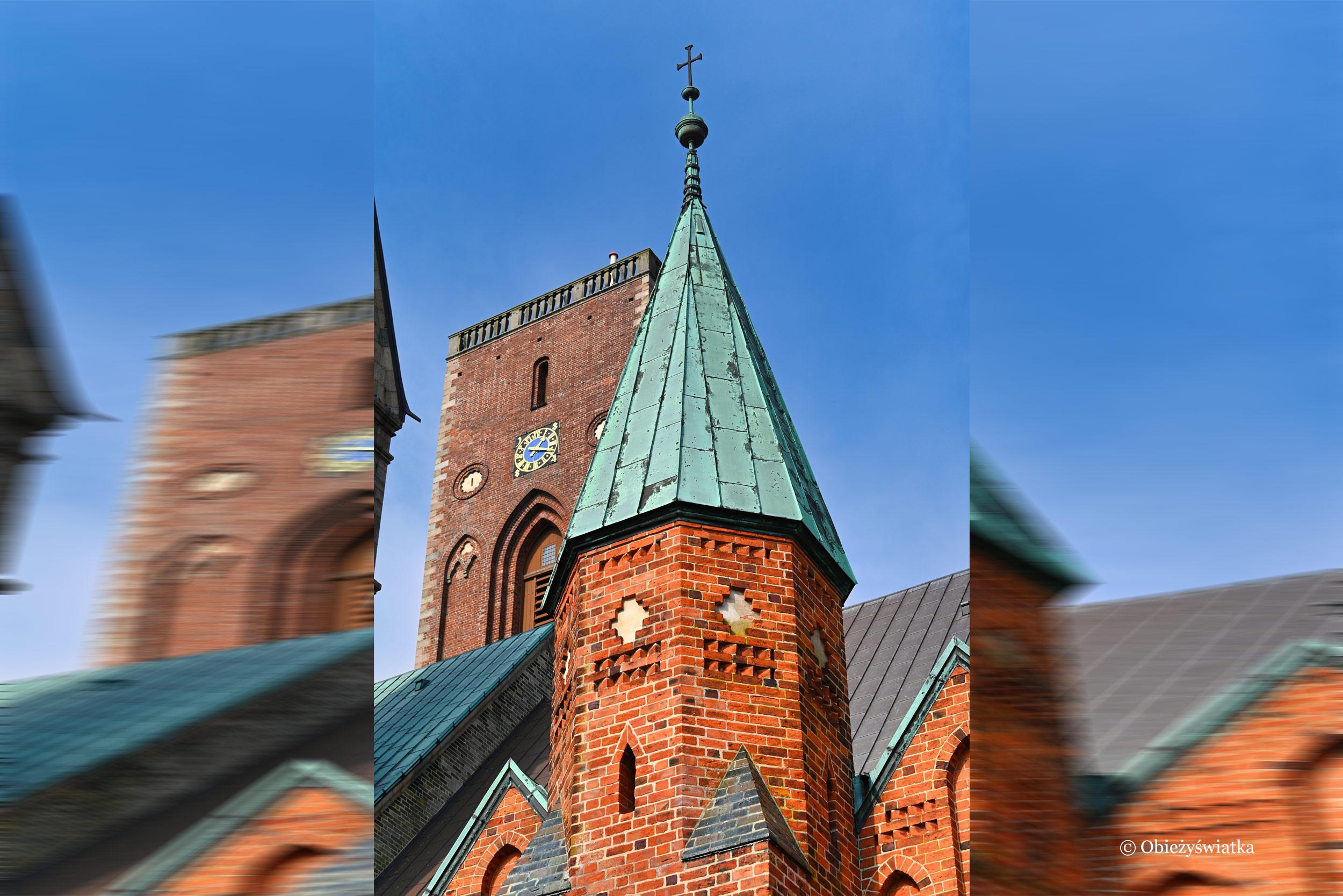 Część gotycka katedry - Ribe, Dania