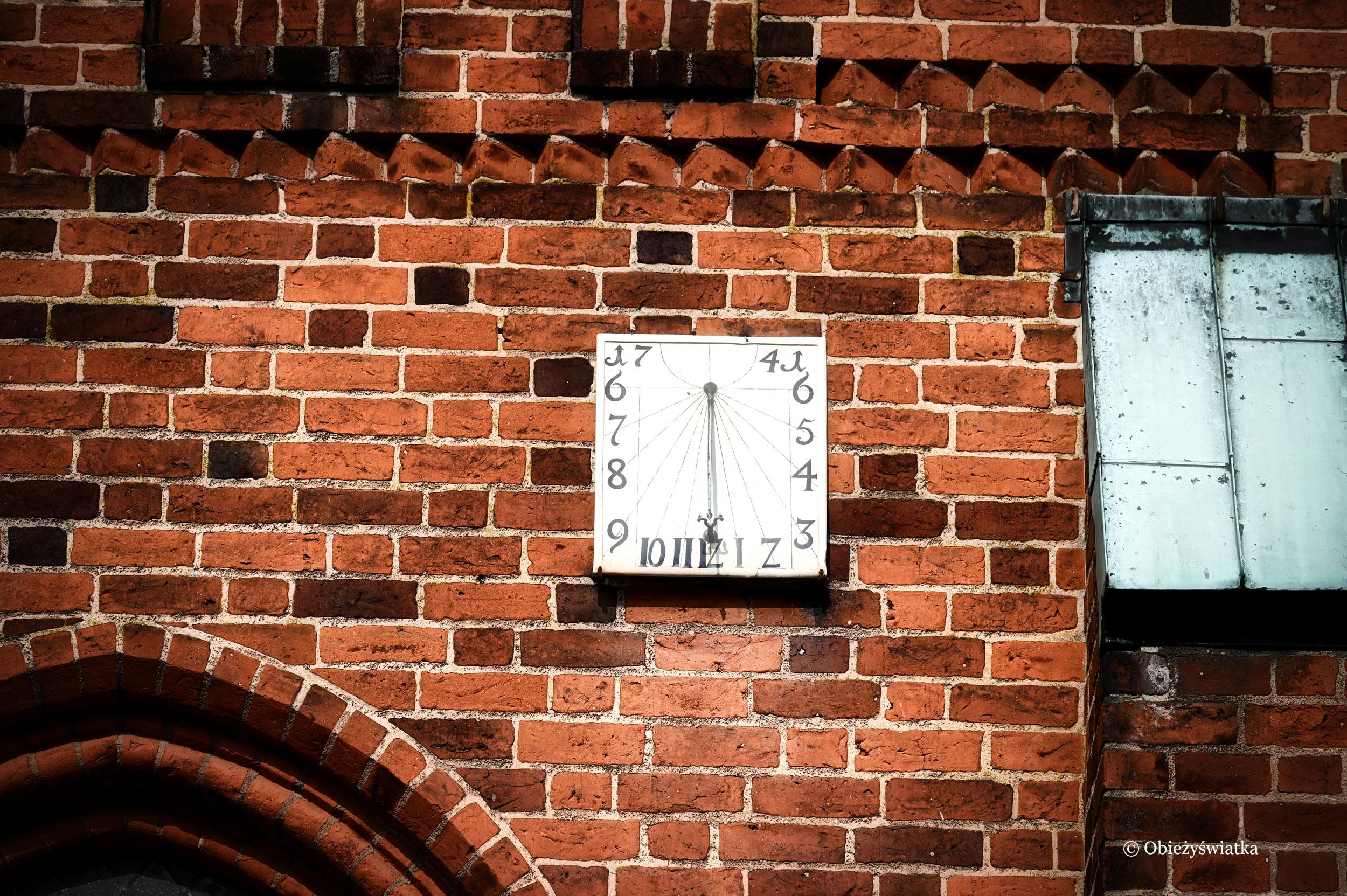 Zegar słoneczny, Katedra w Ribe, Dania