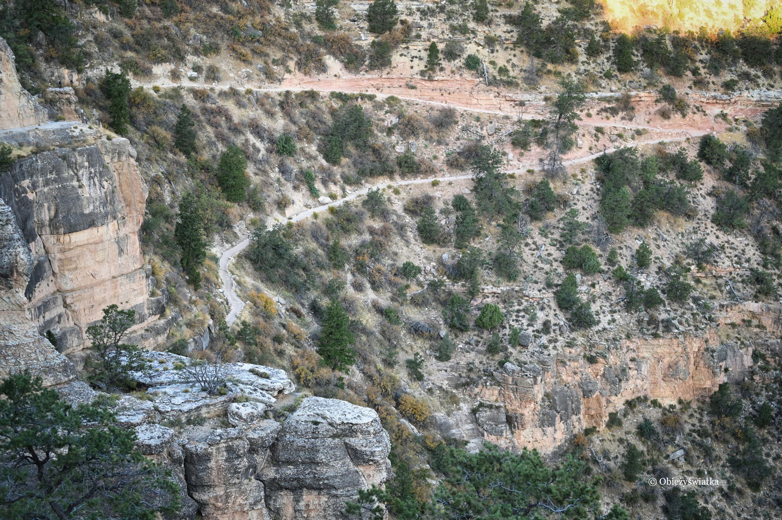 Grand Canyon i Bright Angel Trail