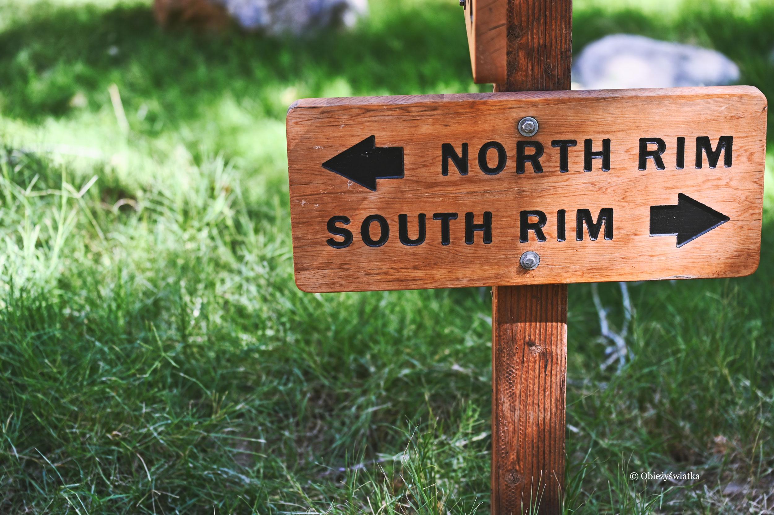 North i South Rim, Grand Canyon