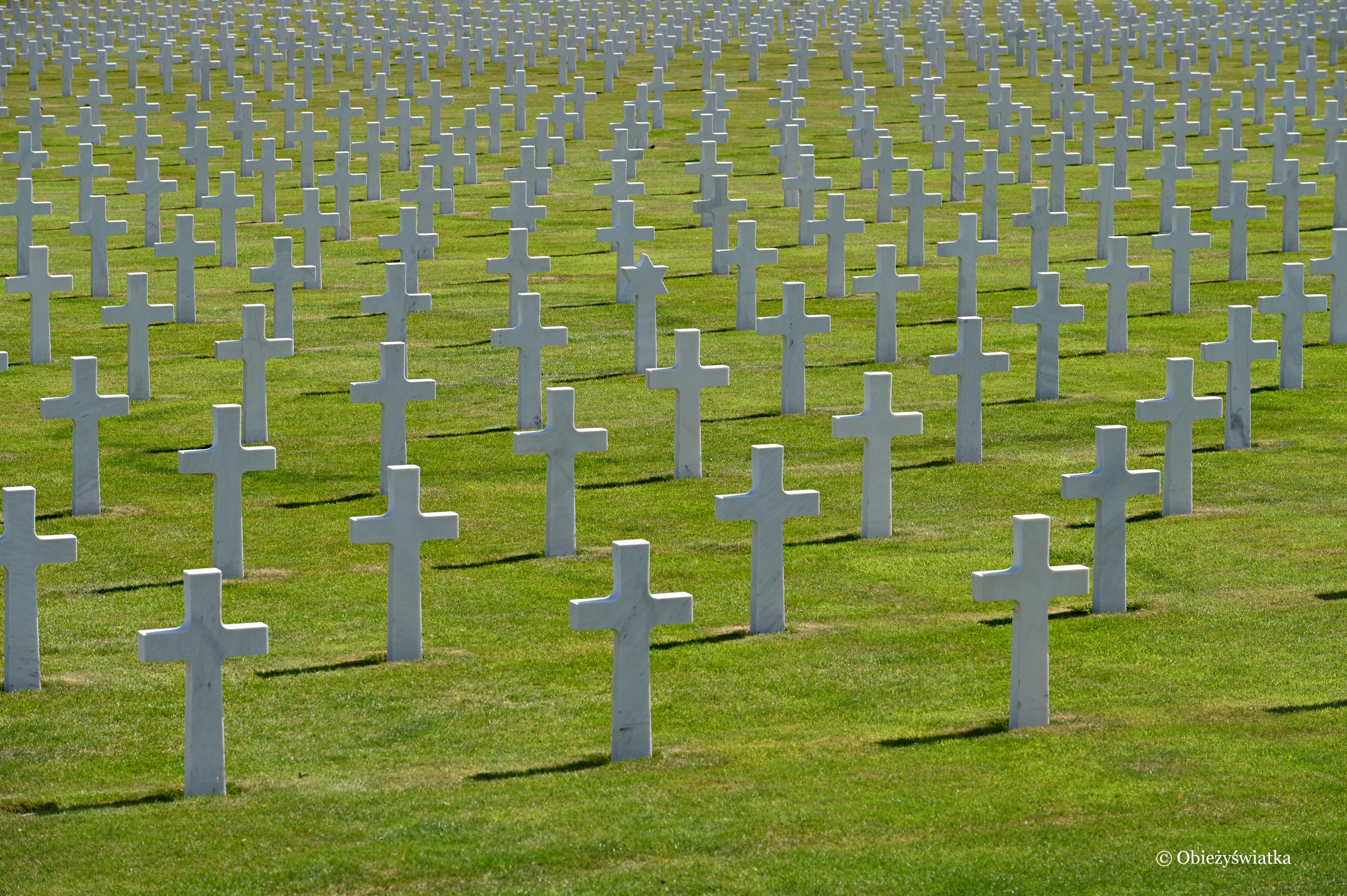 Na amerykańskim cmentarzu wojskowym w Belgii, Henri Chapelle