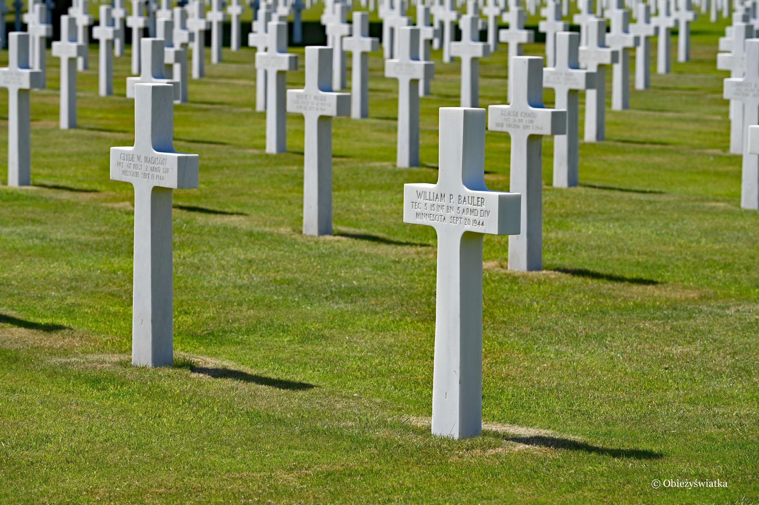 Henri Chapelle - Amerykański Cmentarz Wojskowy