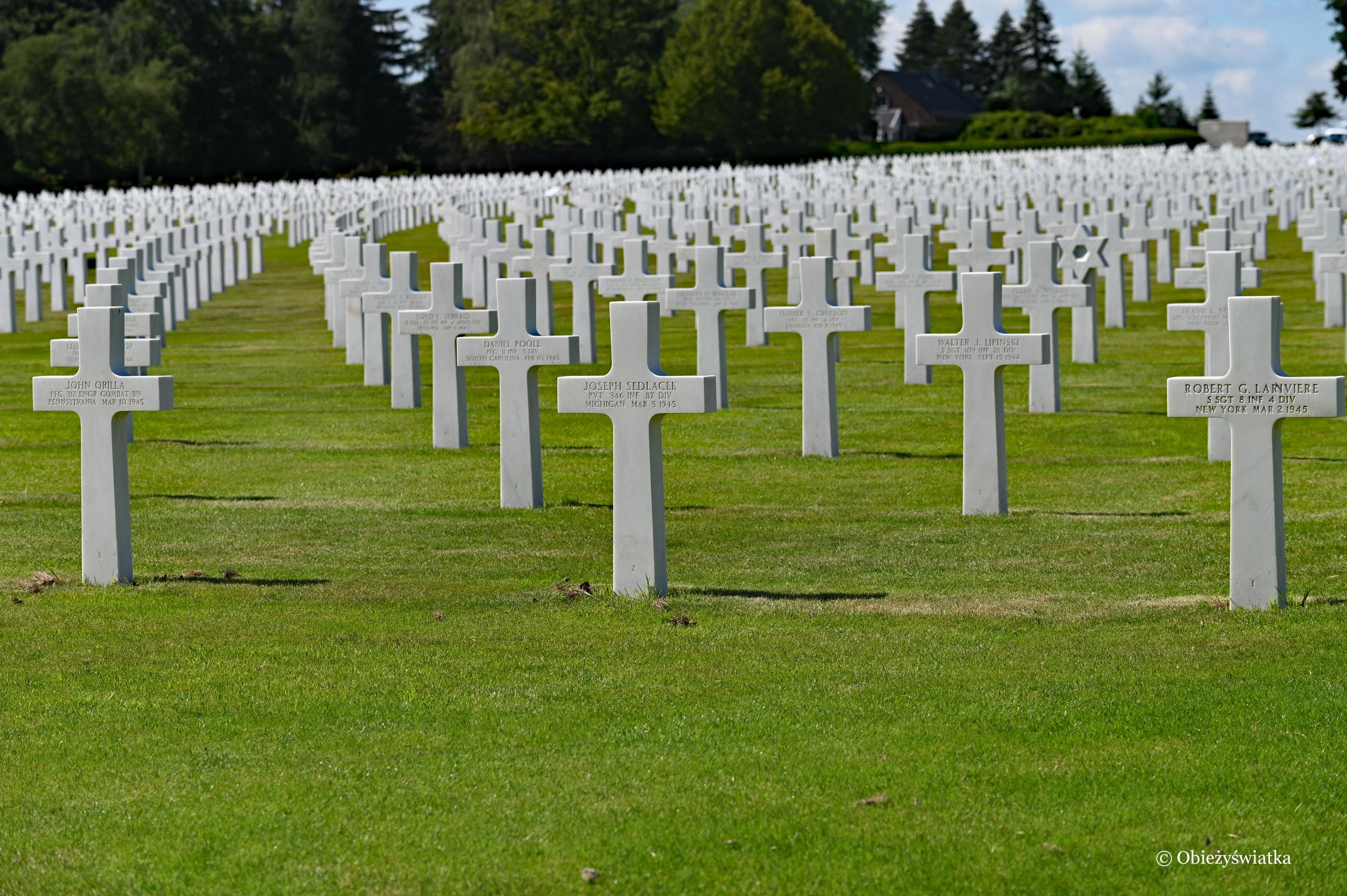 Amerykańska nekropolia wojskowa w Belgii