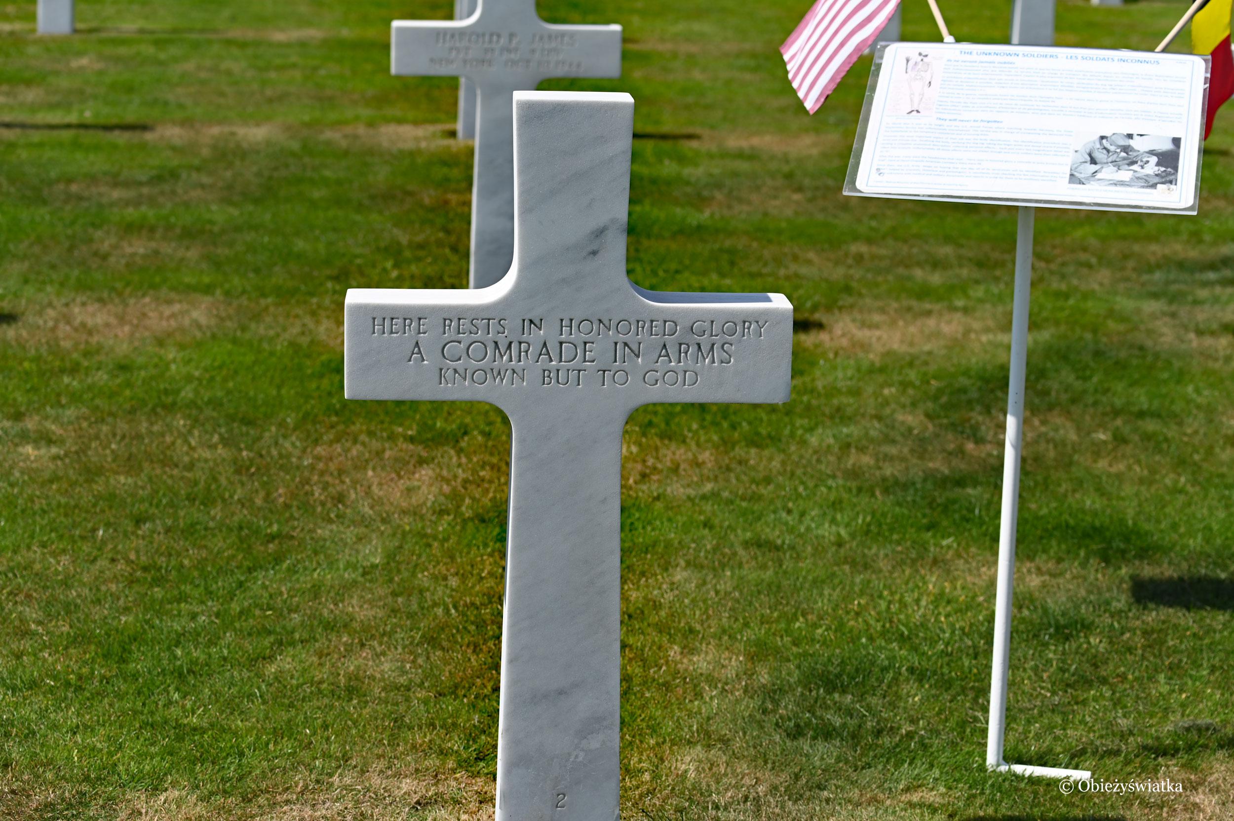 American Cementery and Memorial, Belgia, Henri Chapelle
