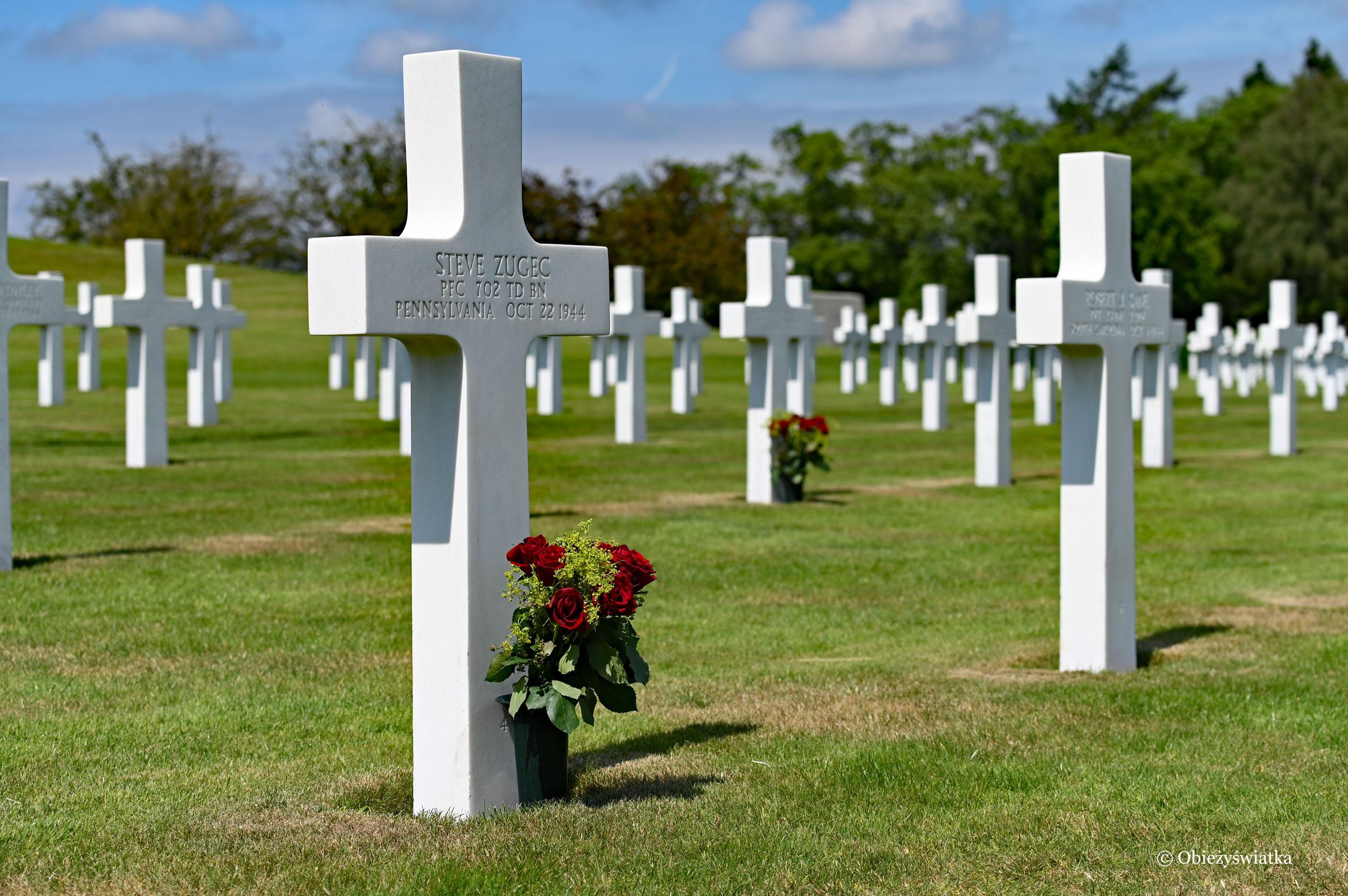 American Cementery and Memorial, Belgia
