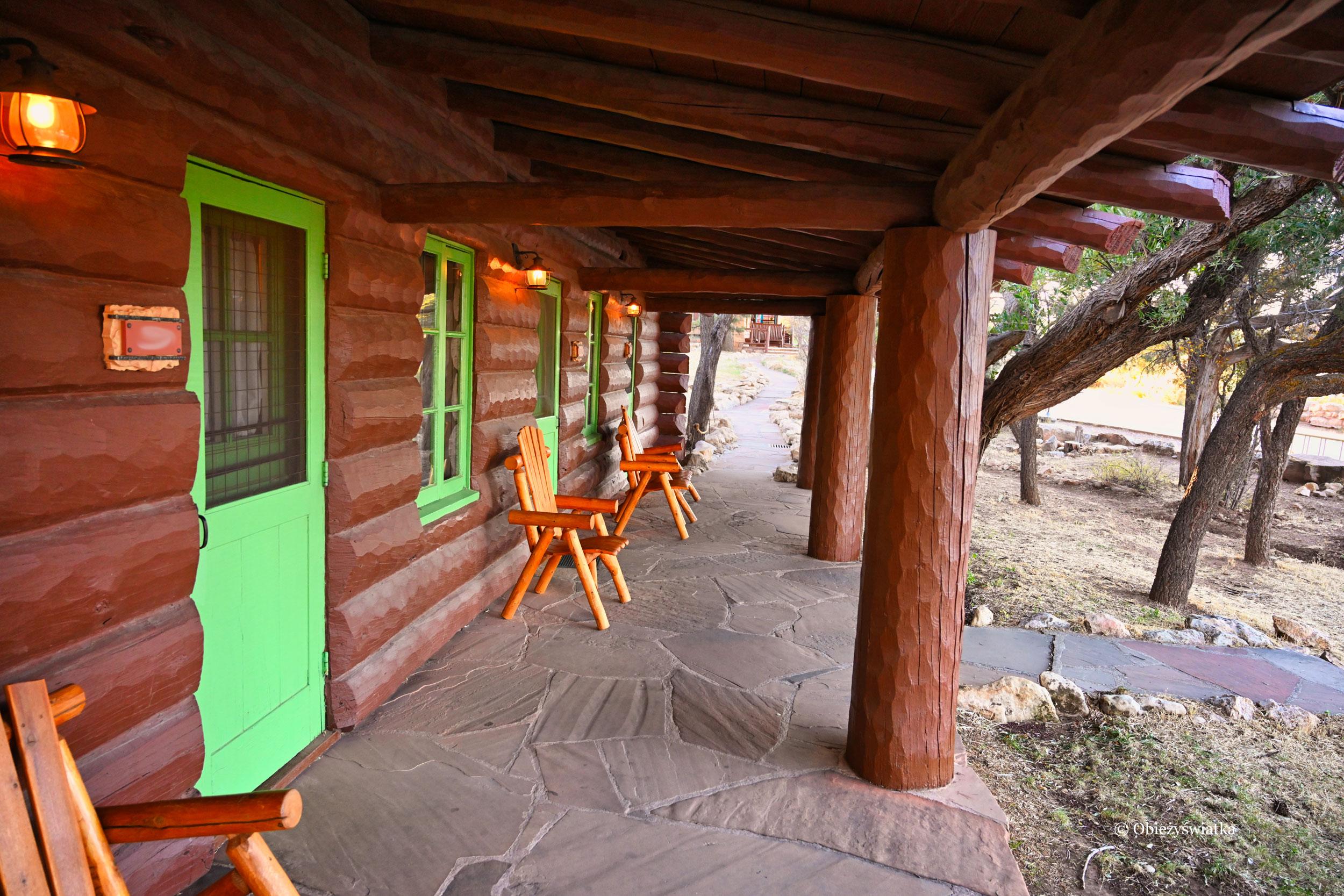 Lodge w Grand Canyon Village, South Rim, Arizona