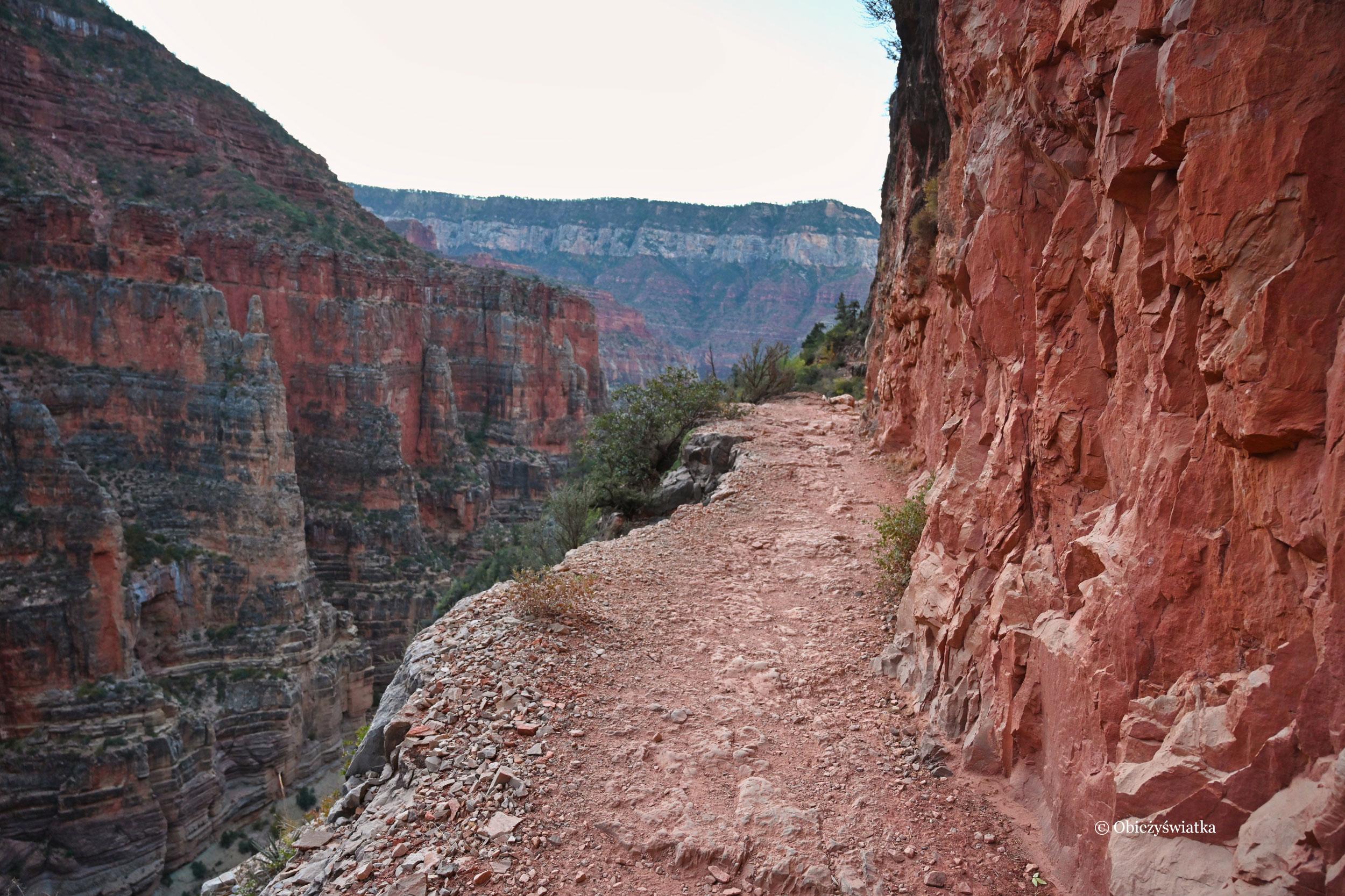North Kaibab Trail - trzeba uważać...