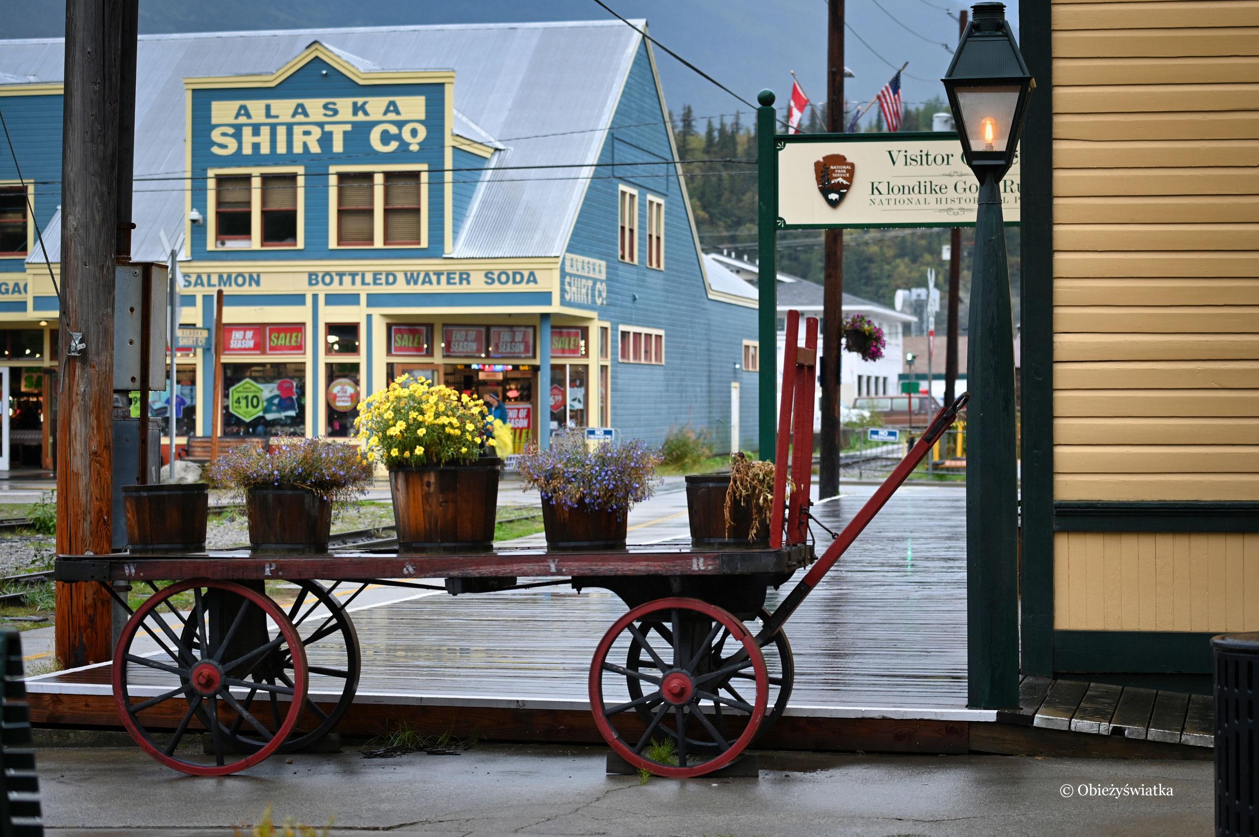 Historycznie w Skagway, Alaska