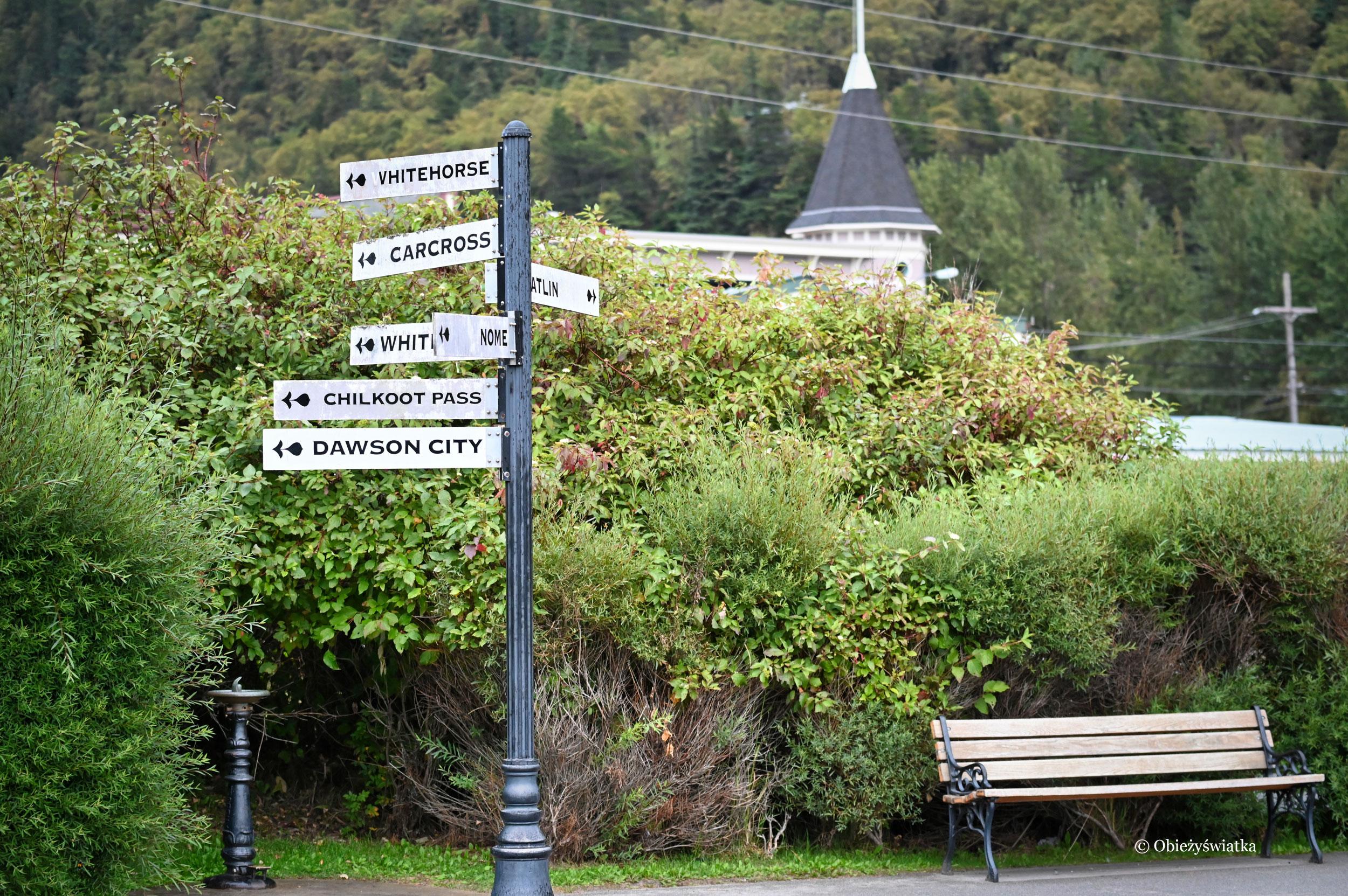 Wszystkie drogi prowadzą do...., Skagway, Alaska
