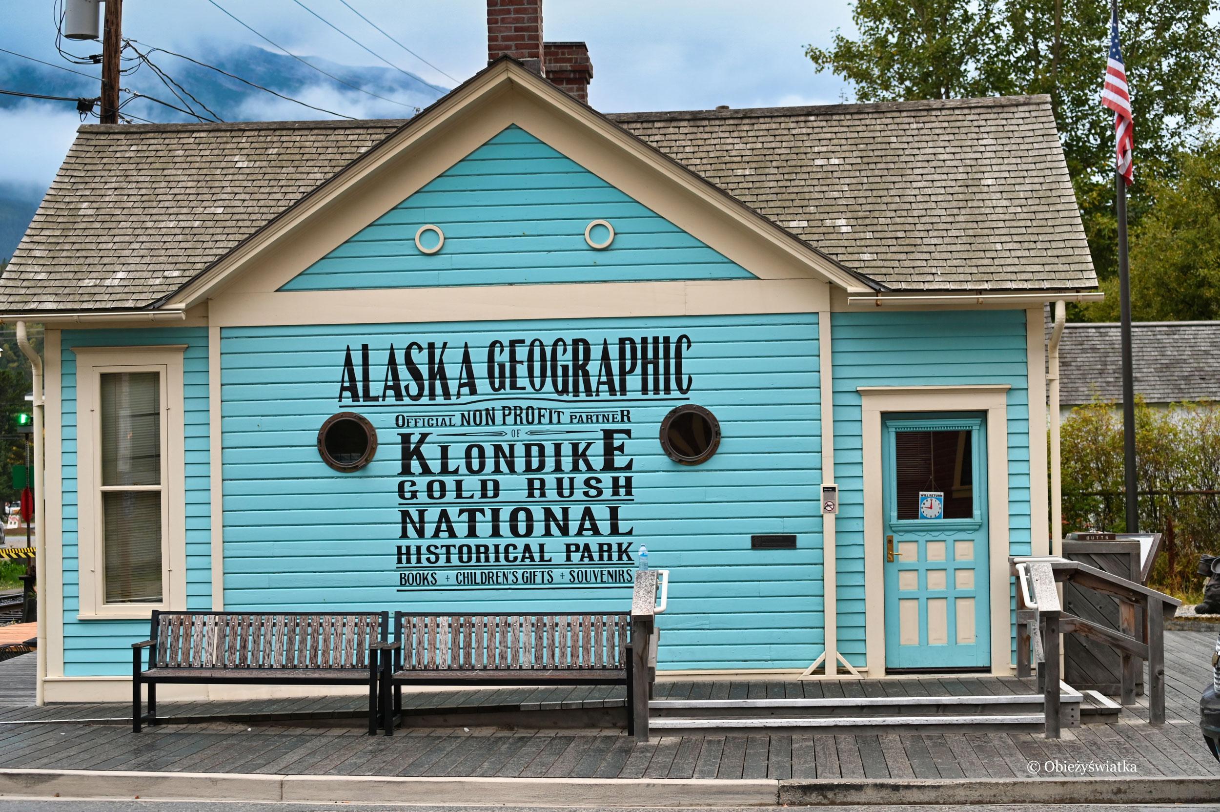 Ślady przeszłości, Skagway, Alaska