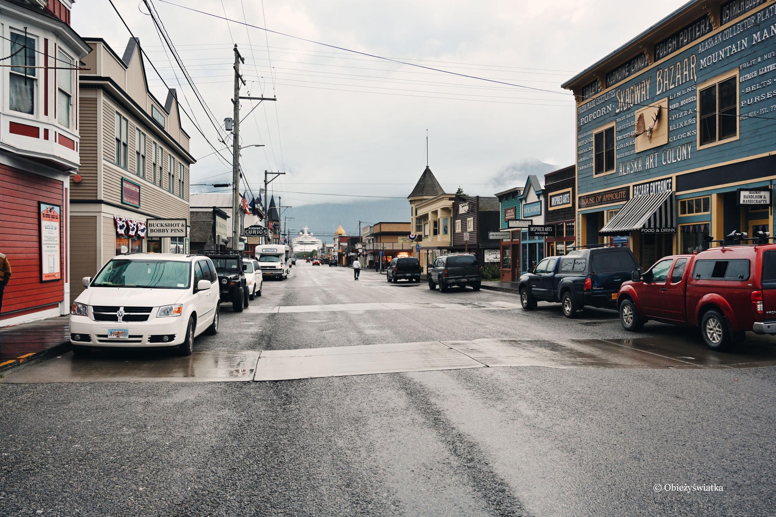 Ulice Skagway, Alaska