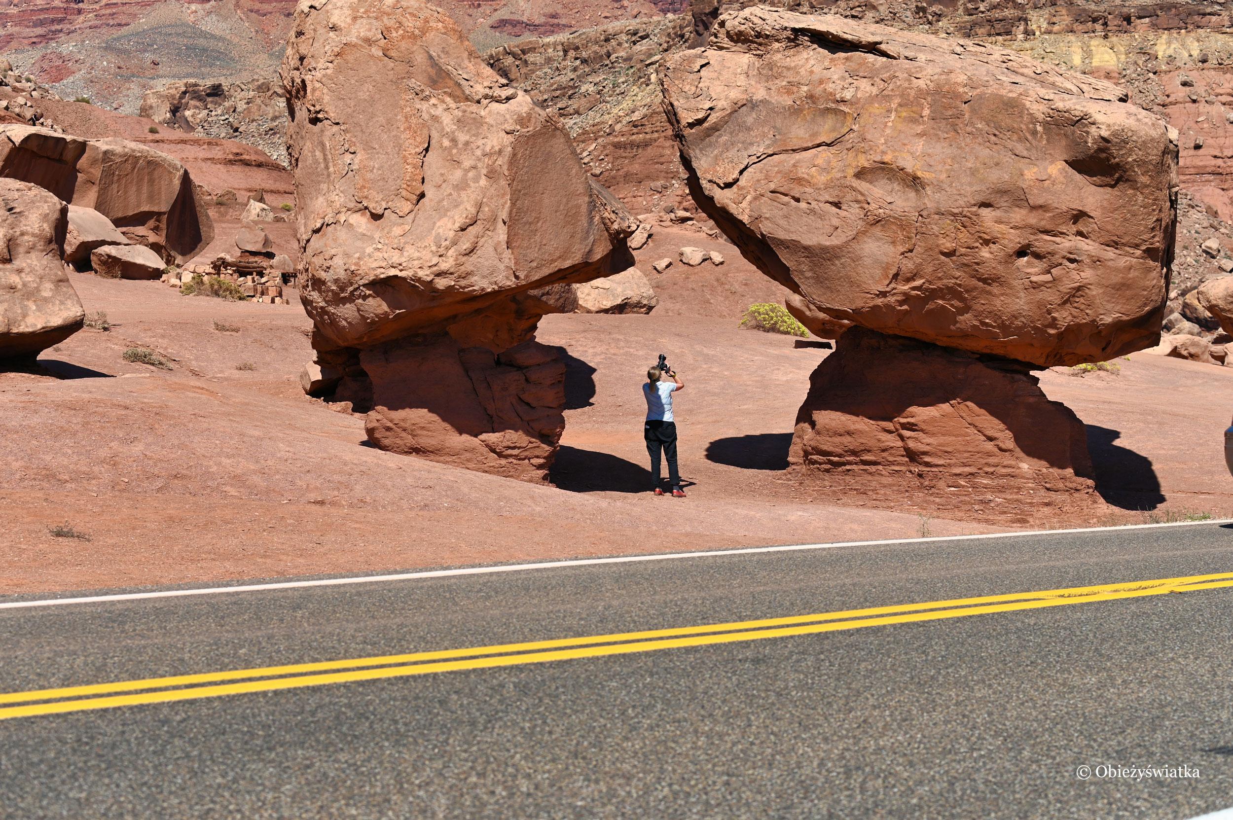Zaufałam, że się nie zachwieją ;) - Highway 89A, Arizona
