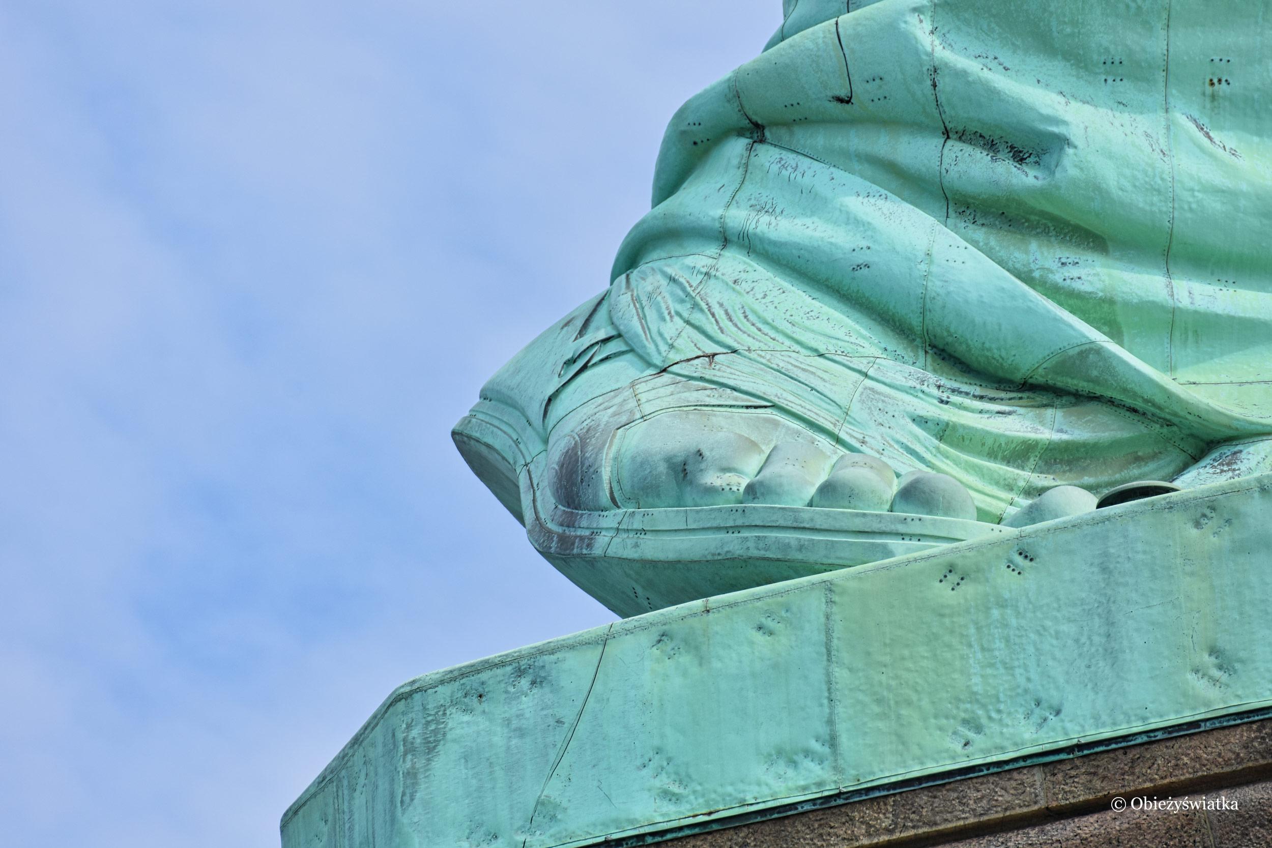 Stopa Wolności - Statua Wolności, USA