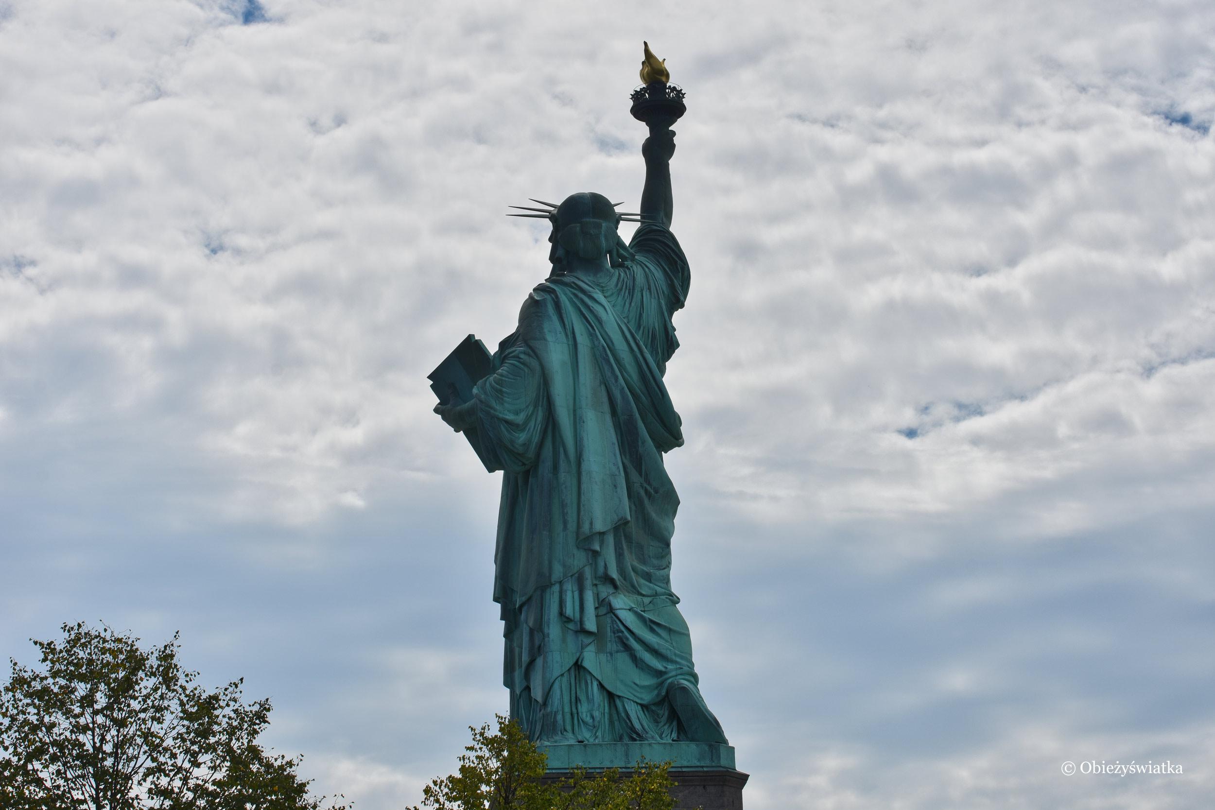 Statua Wolności, Liberty Island