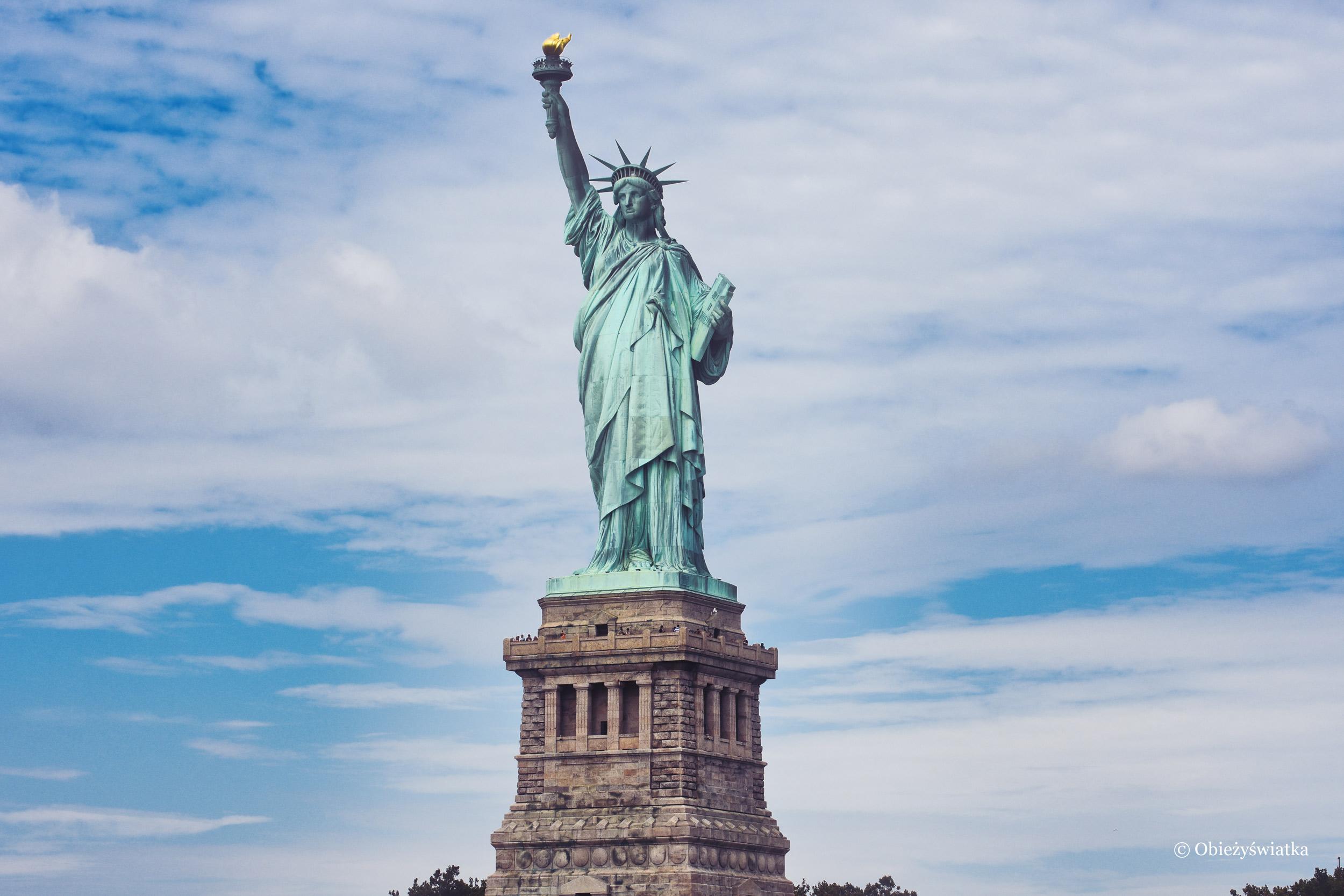Lady Liberty - symbol Wolności znany na całym świecie