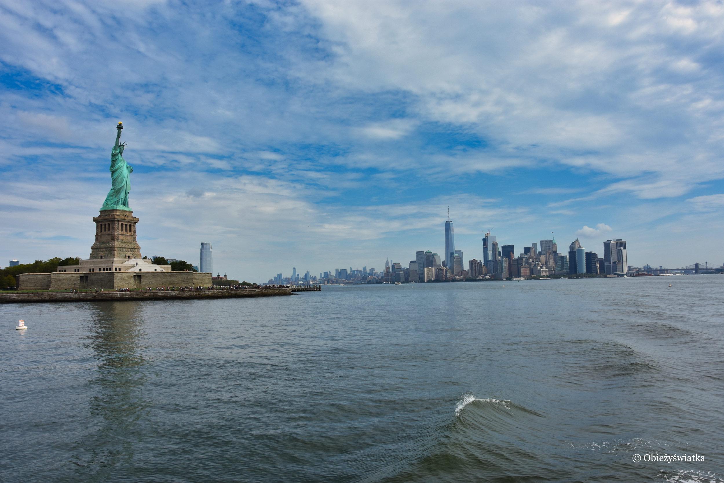 Symbol Wolności i Nowy Jork