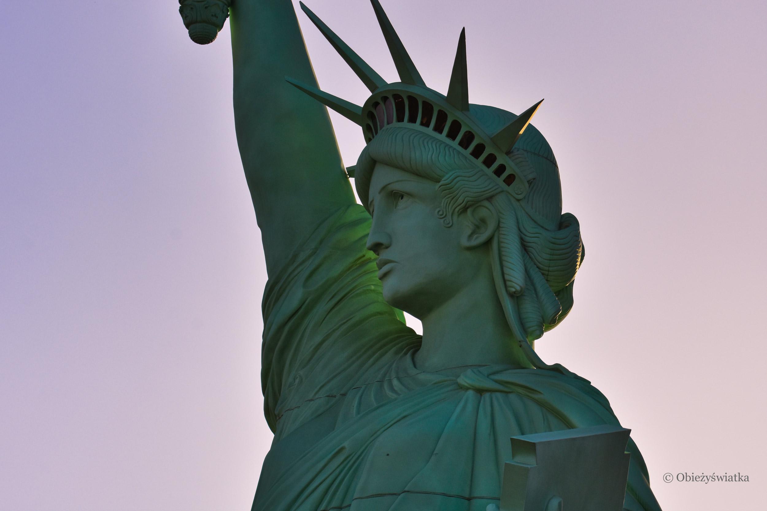 Statue of Liberty w Las Vegas, część kompleksu hotelowego New York-New York