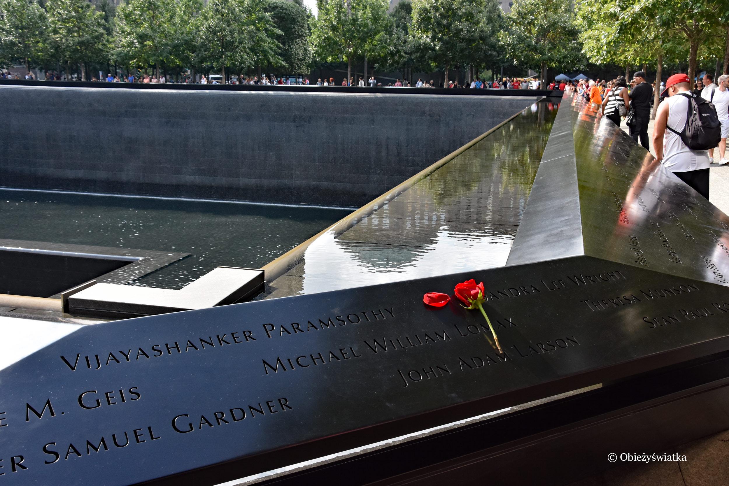 Pomnik 9/11 w Nowym Jorku, Ground Zero